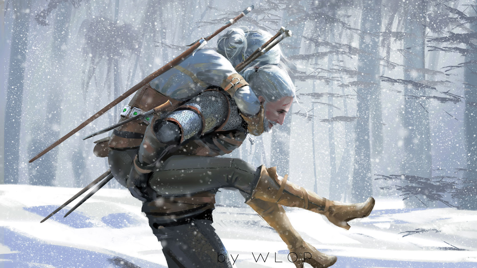 1920x1080 The Witcher 3 Wild Hunt Artwork 1080p Laptop Full Hd