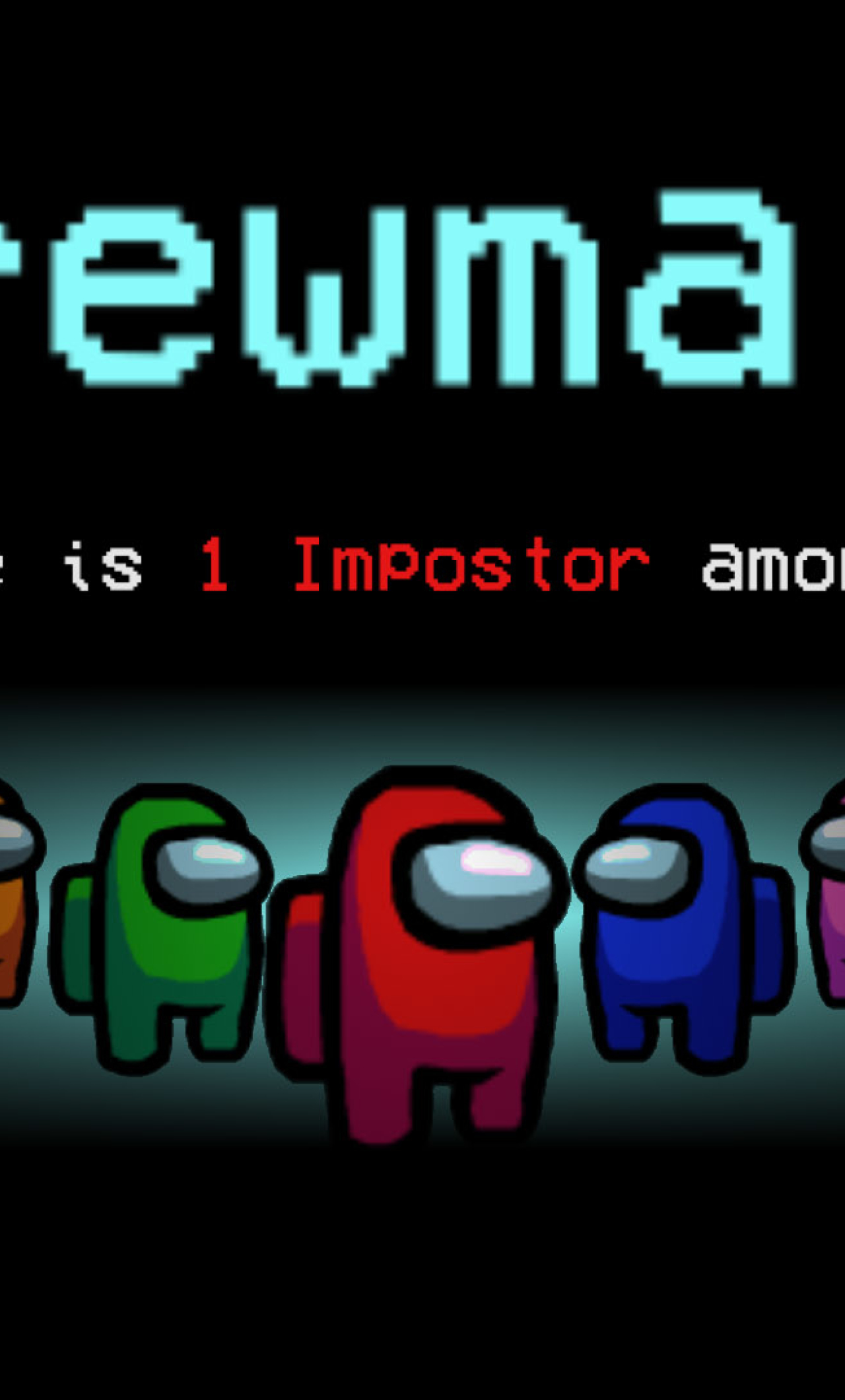 1280x2120 There is 1 Imposter Crewmate Among Us iPhone 6 ...