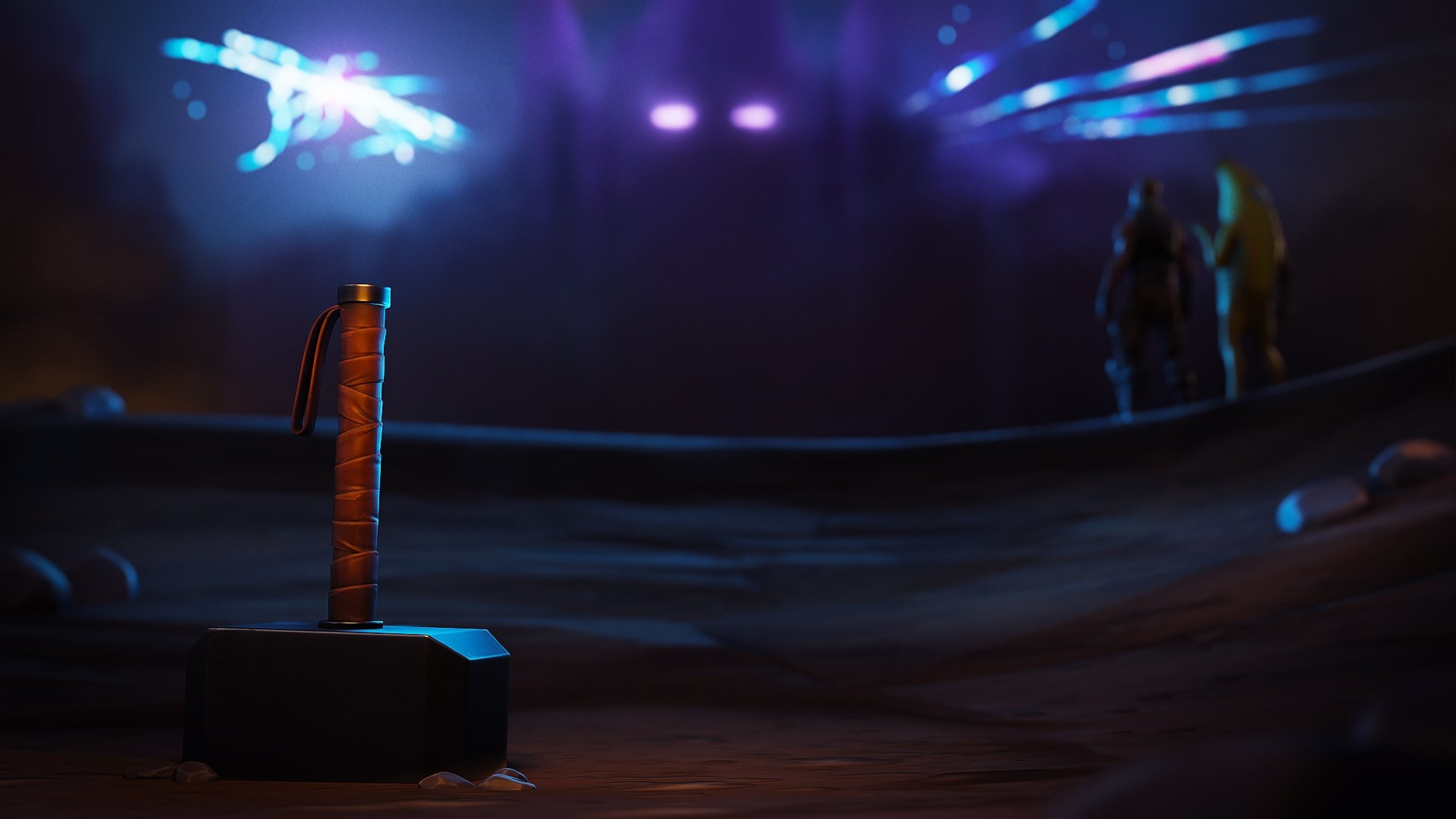 3840x2160 Thor Hammer Fortnite 4k Wallpaper Hd Games 4k Wallpapers Images Photos And Background