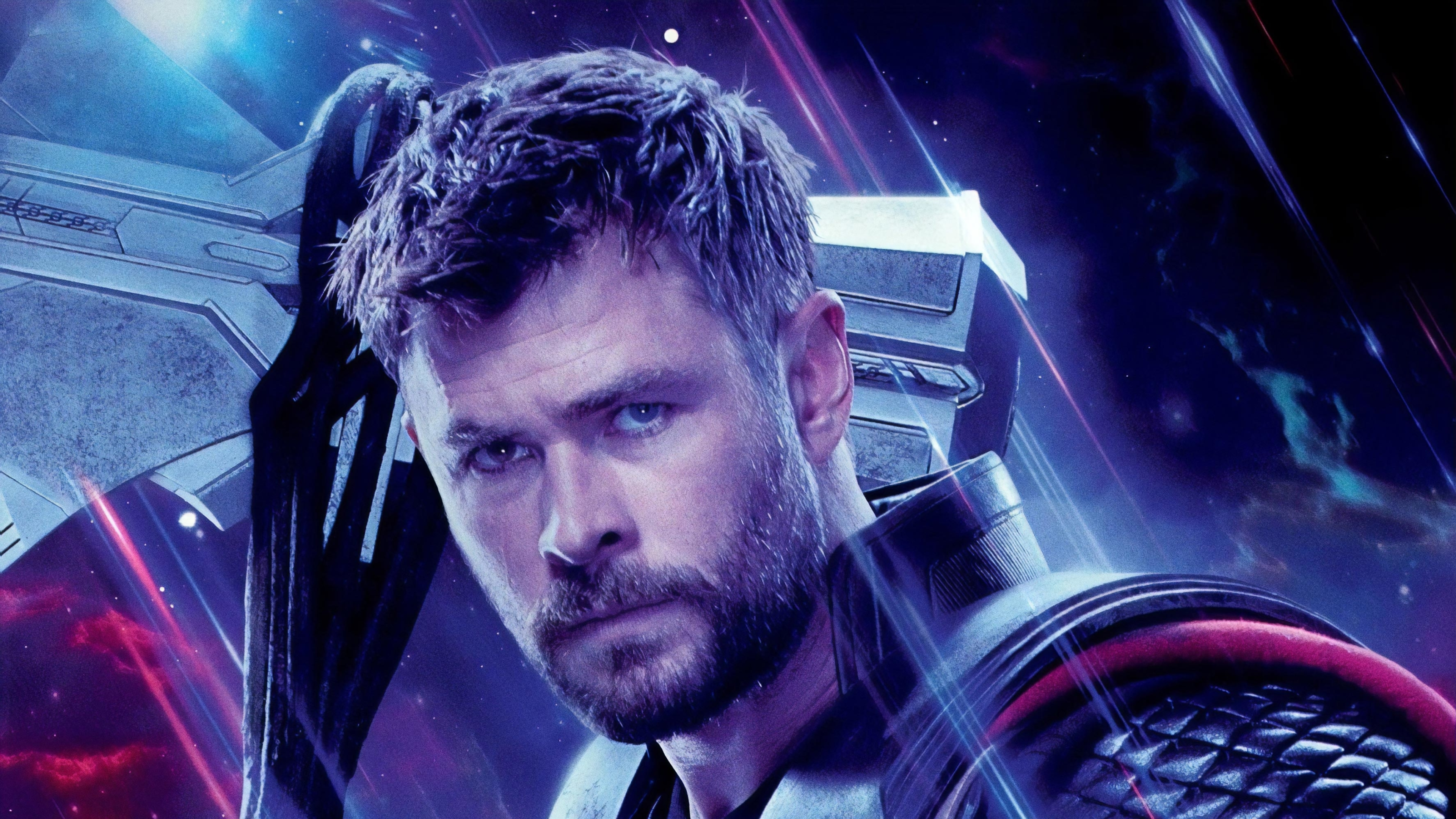 3840x2160 Thor In Avengers Endgame 4k Wallpaper Hd Movies