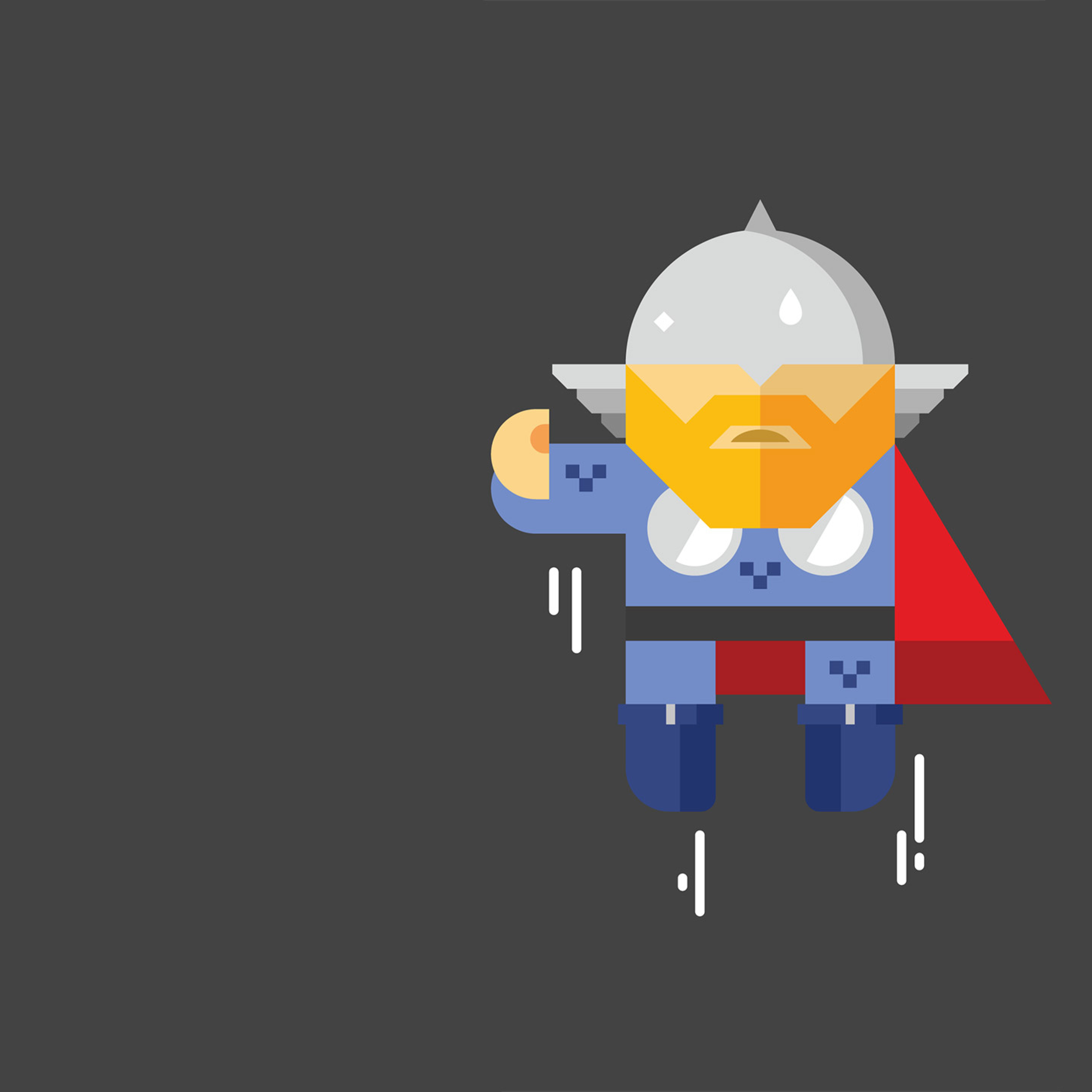 Download Thor Minimalism 2017 2560x1440 Resolution, Full