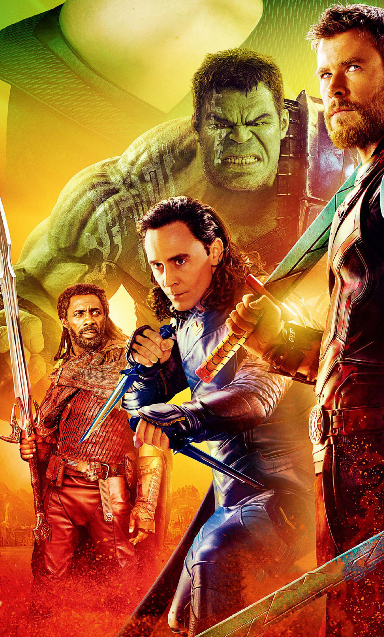 Thor Ragnarok Movie Cast Poster 2017, Full HD 2K Wallpaper