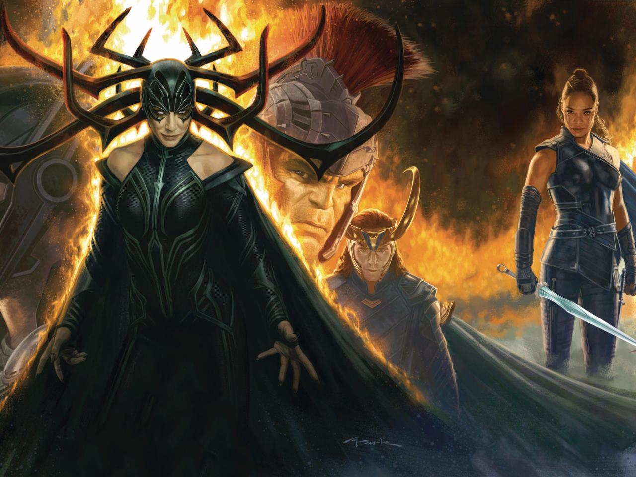 Thor Ragnarok Movie Cover 2017, HD 4K Wallpaper