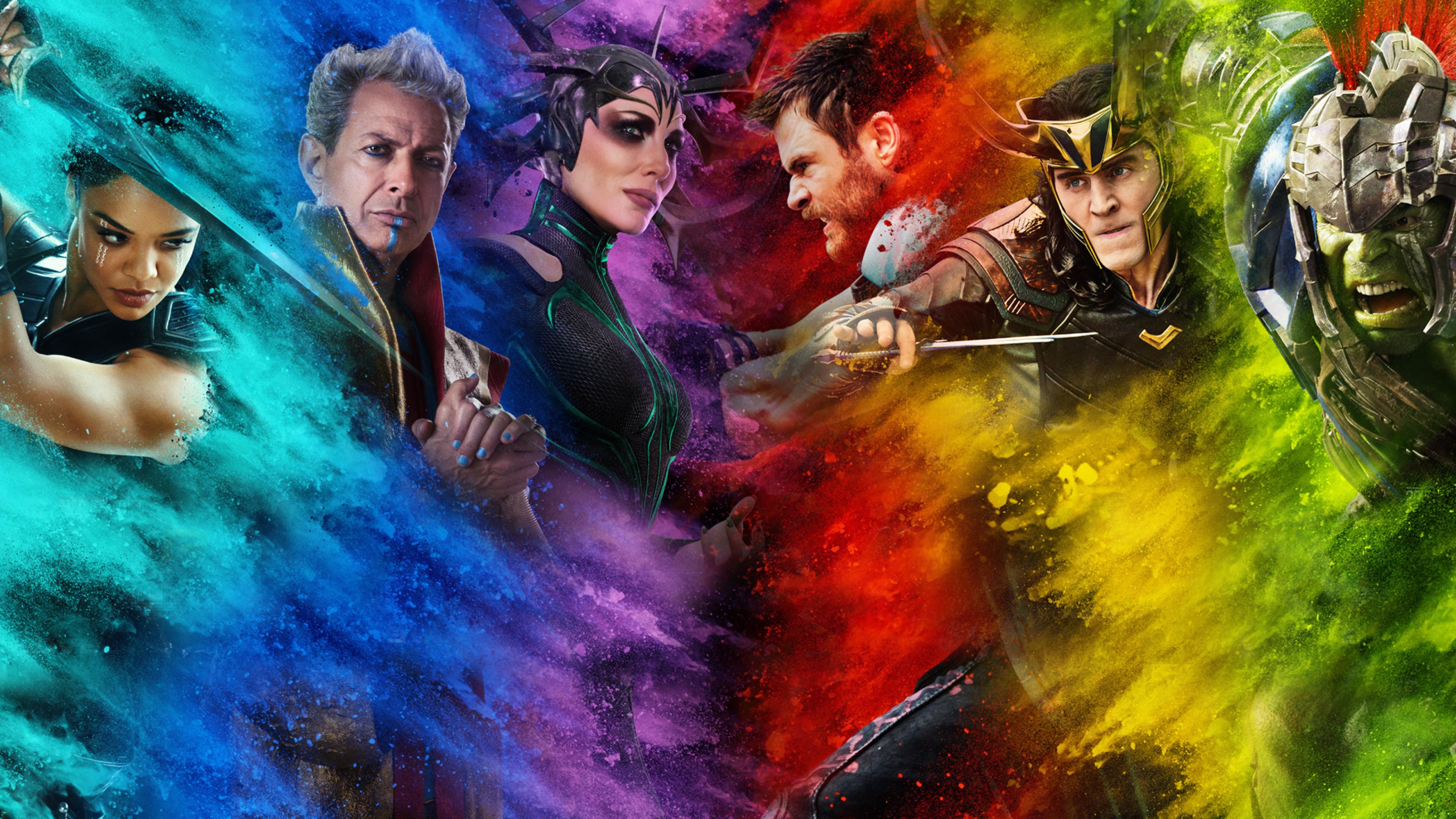 3840x2160 Thor Ragnarok Poster 4K Wallpaper, HD Movies 4K ...