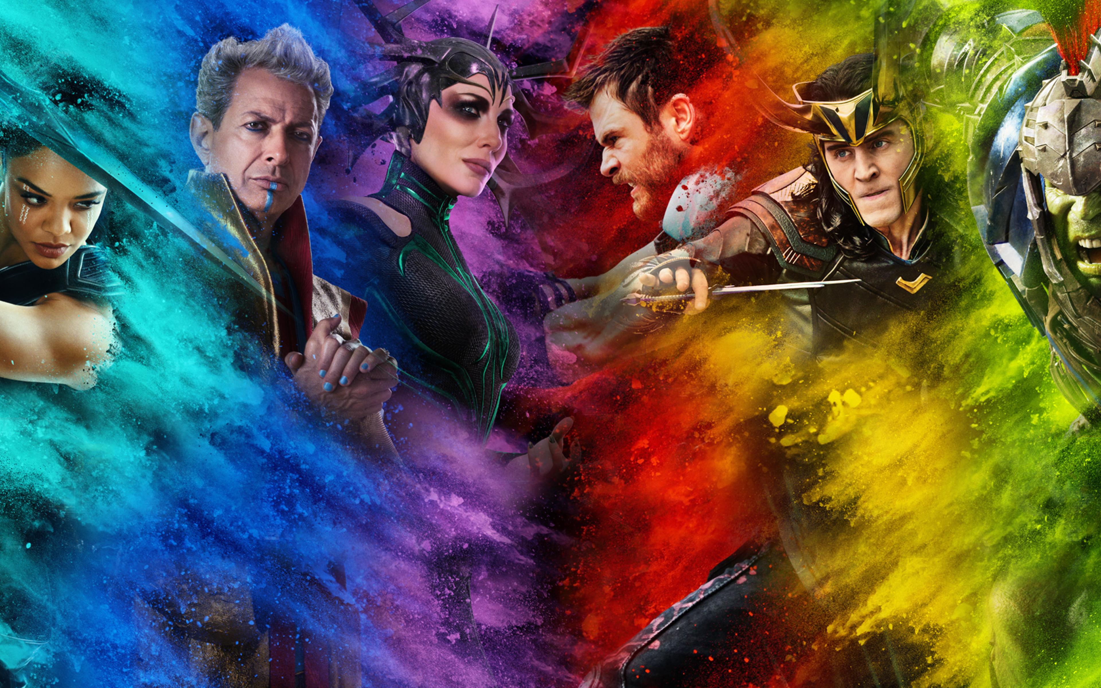Thor Ragnarok Poster, Full HD 2K Wallpaper