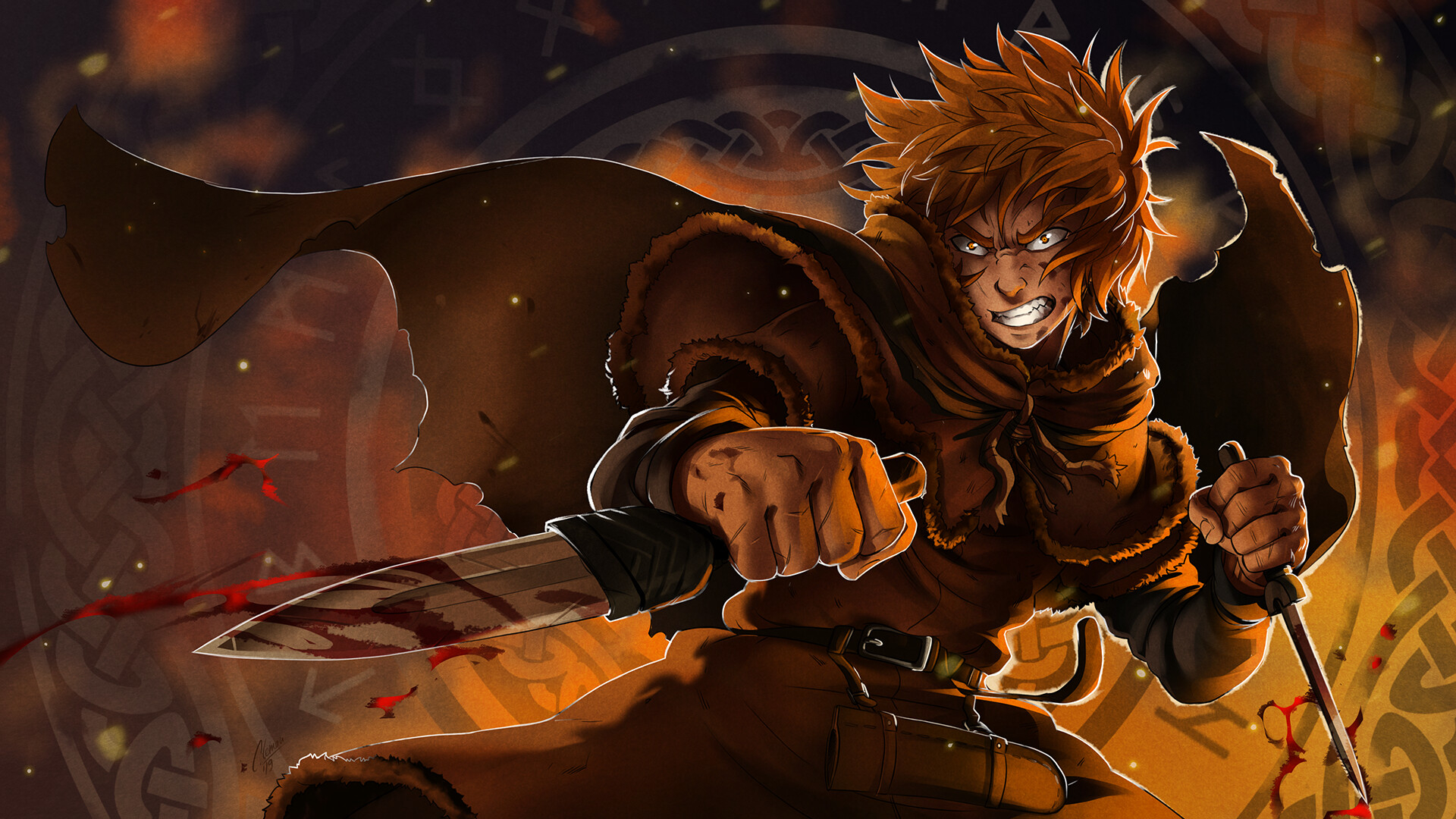 Thorfinn In Vinland Saga Wallpaper Hd Anime 4k Wallpapers