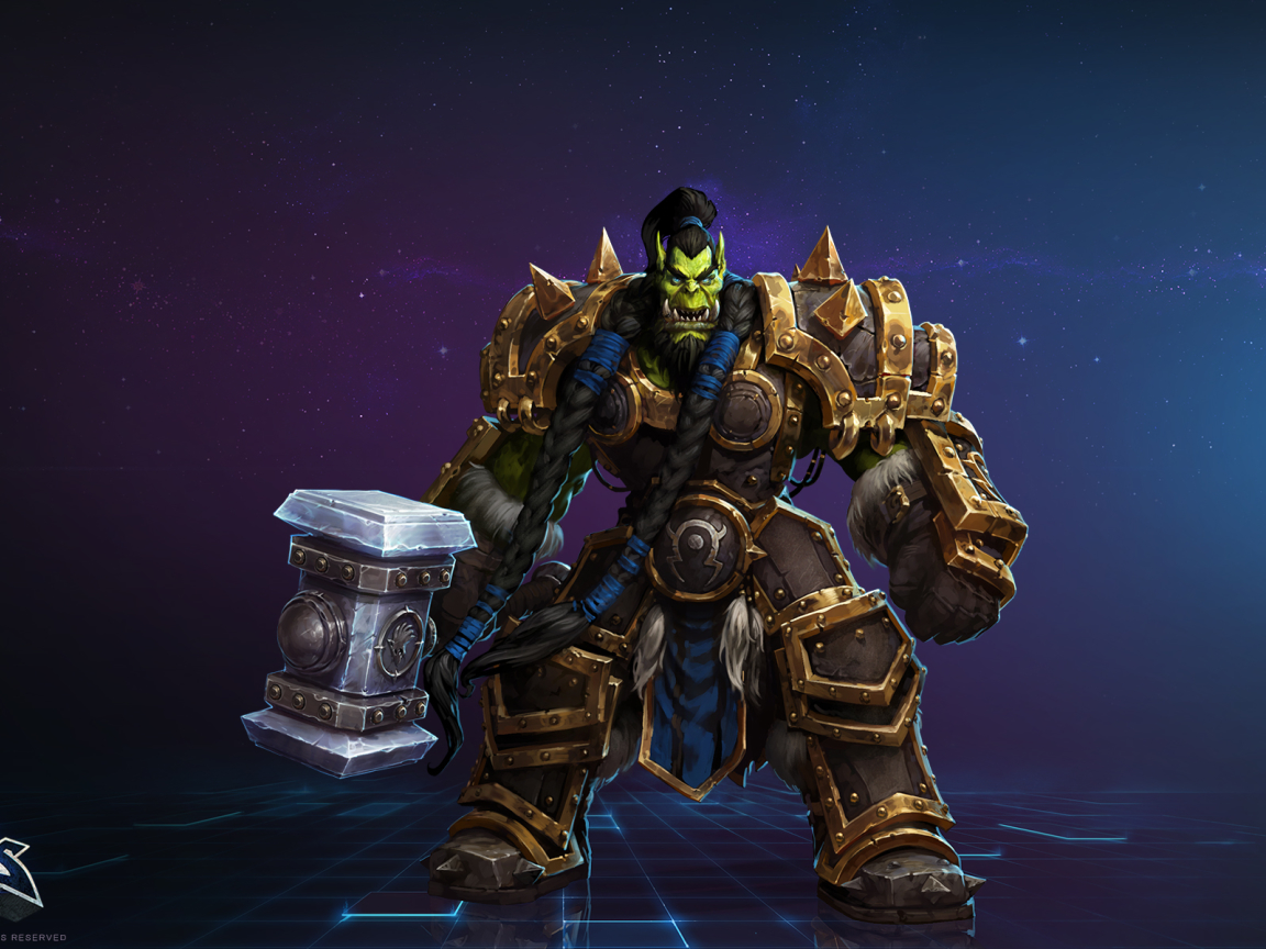 Thrall In World Of Warcraft Wallpaper in 1152x864 Resolution