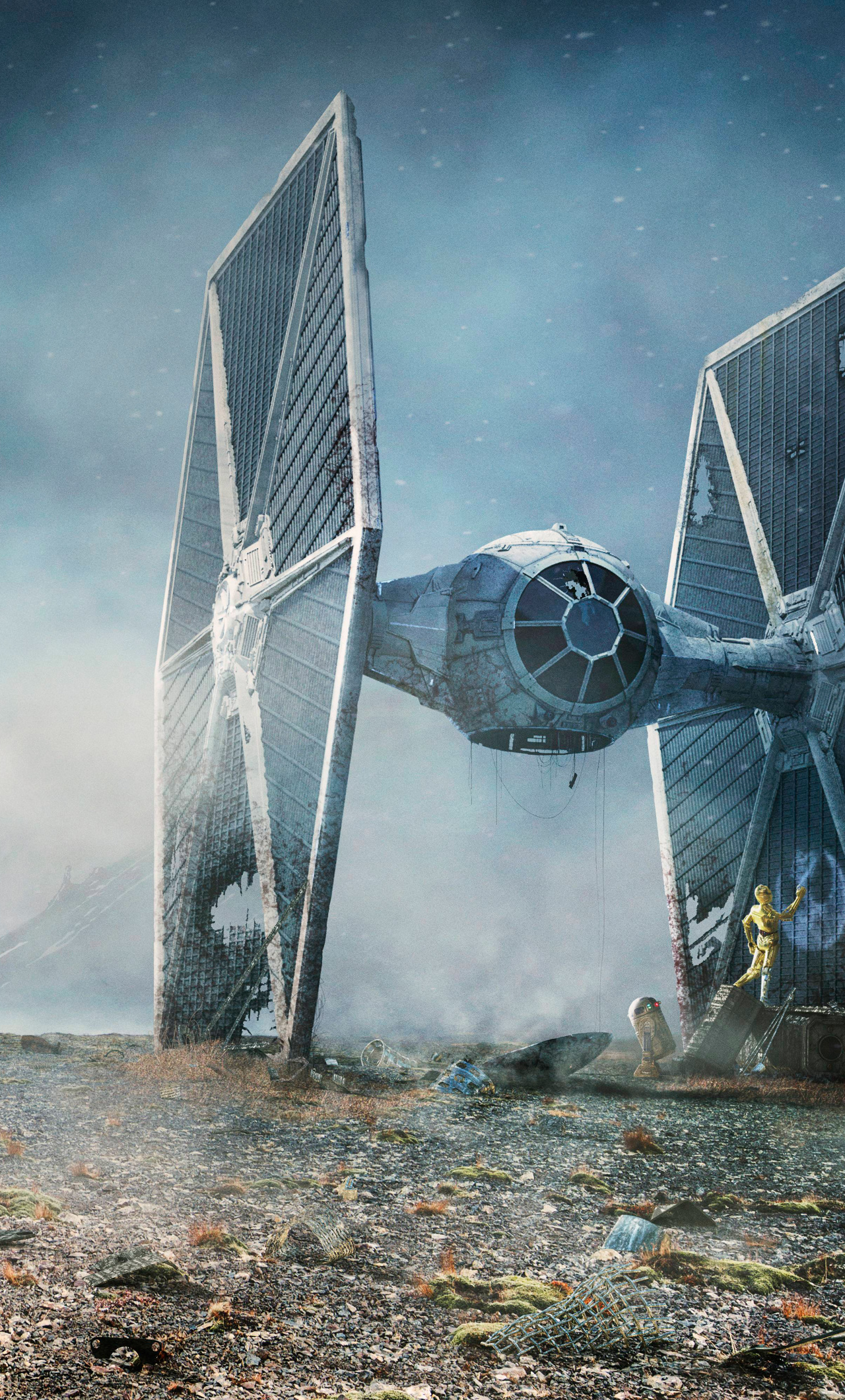 1280x2120 Tie Fighter Star Wars Iphone 6 Plus Wallpaper Hd Movies 4k Wallpapers Images Photos And Background