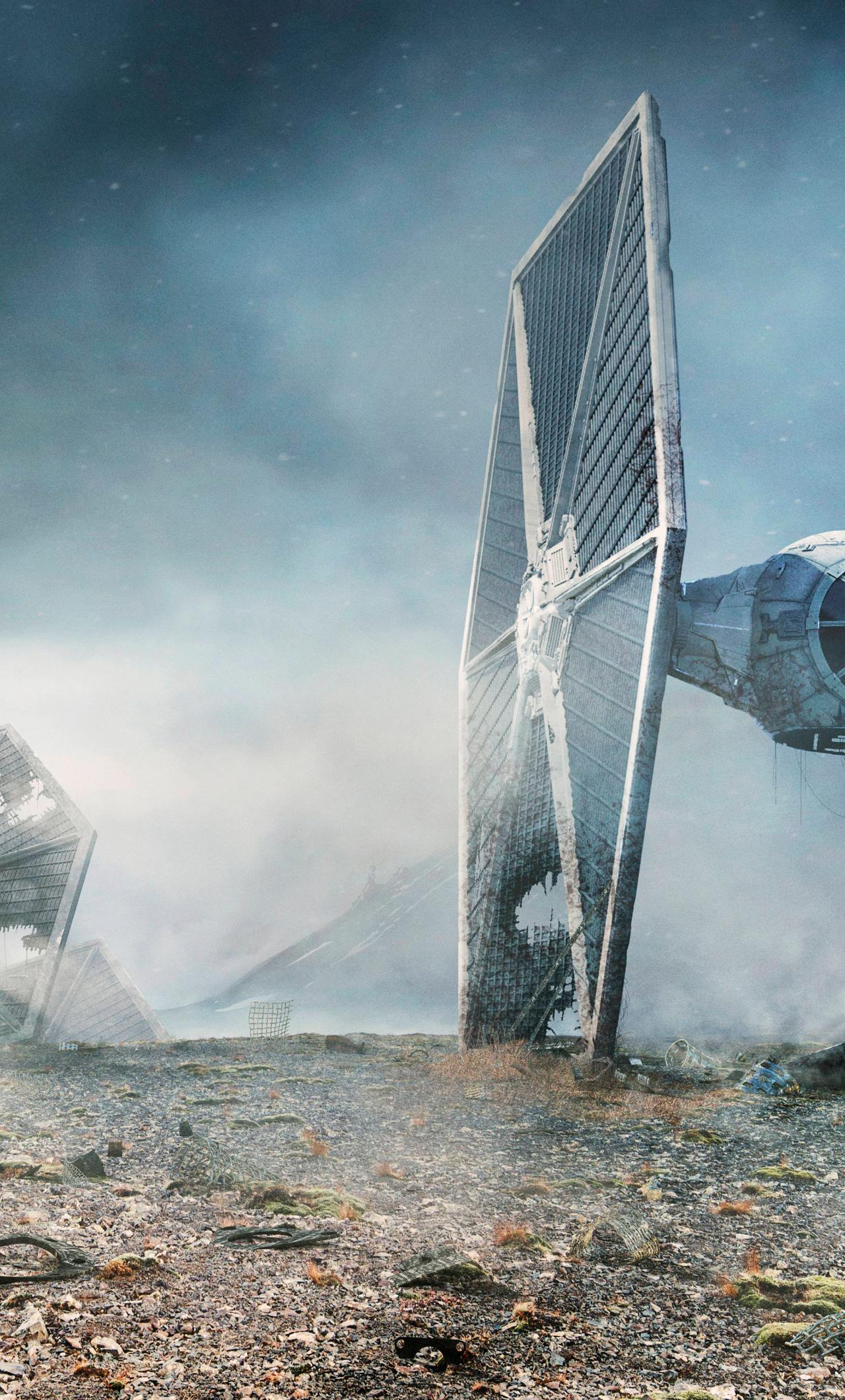 Tie Fighter Star Wars Hd 8k Wallpaper