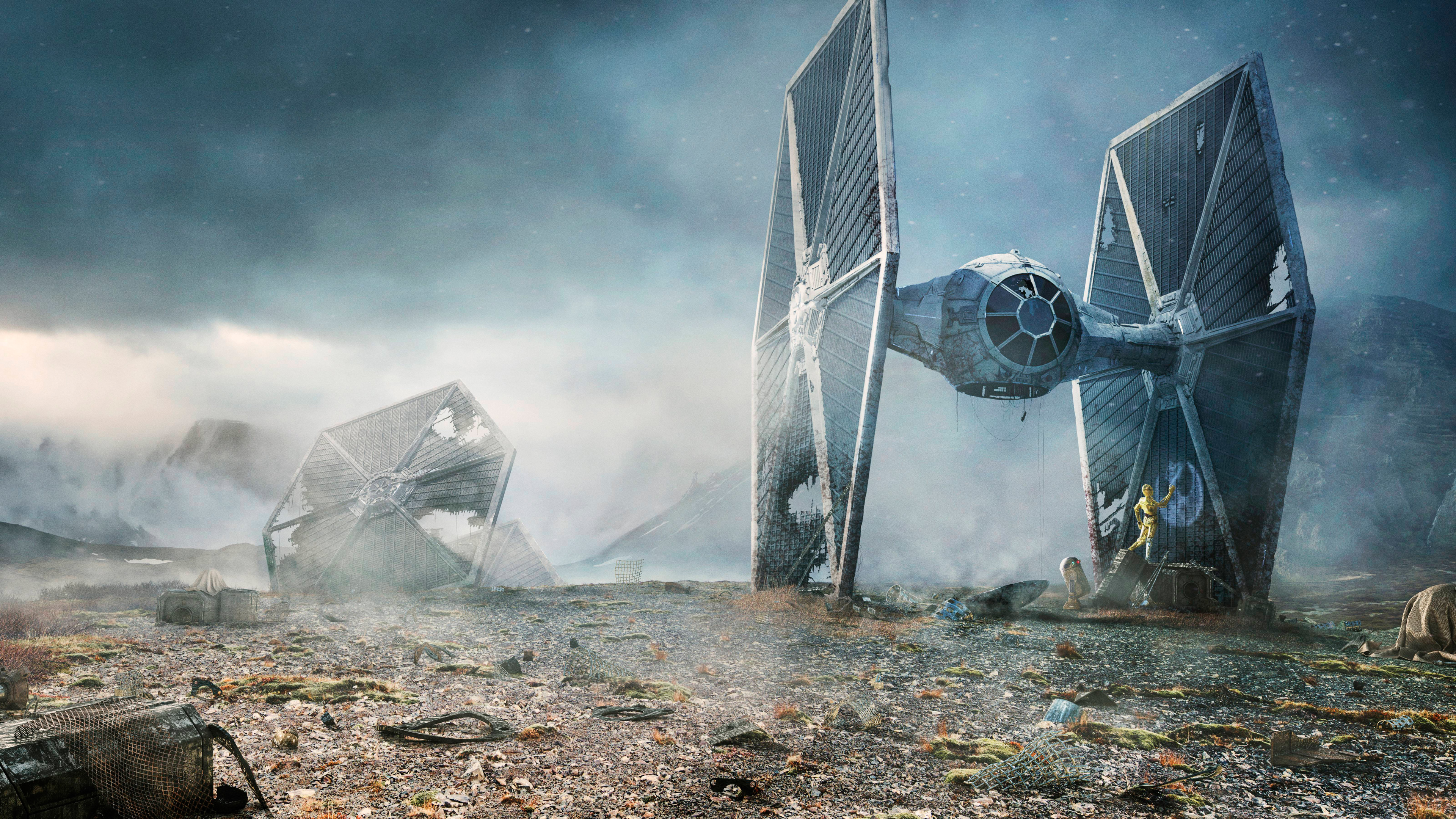 3840x2160 Tie Fighter Star Wars 4k Wallpaper Hd Movies 4k Wallpapers Images Photos And Background