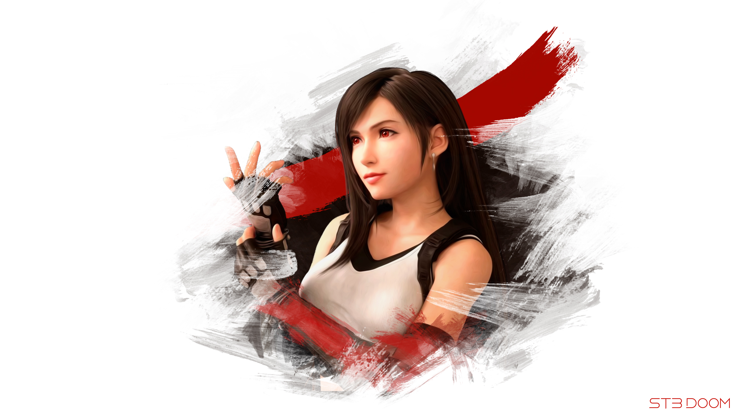 1440x900 Tifa Final Fantasy Vii Remake Digital Art 1440x900 Wallpaper Hd Games 4k Wallpapers Images Photos And Background