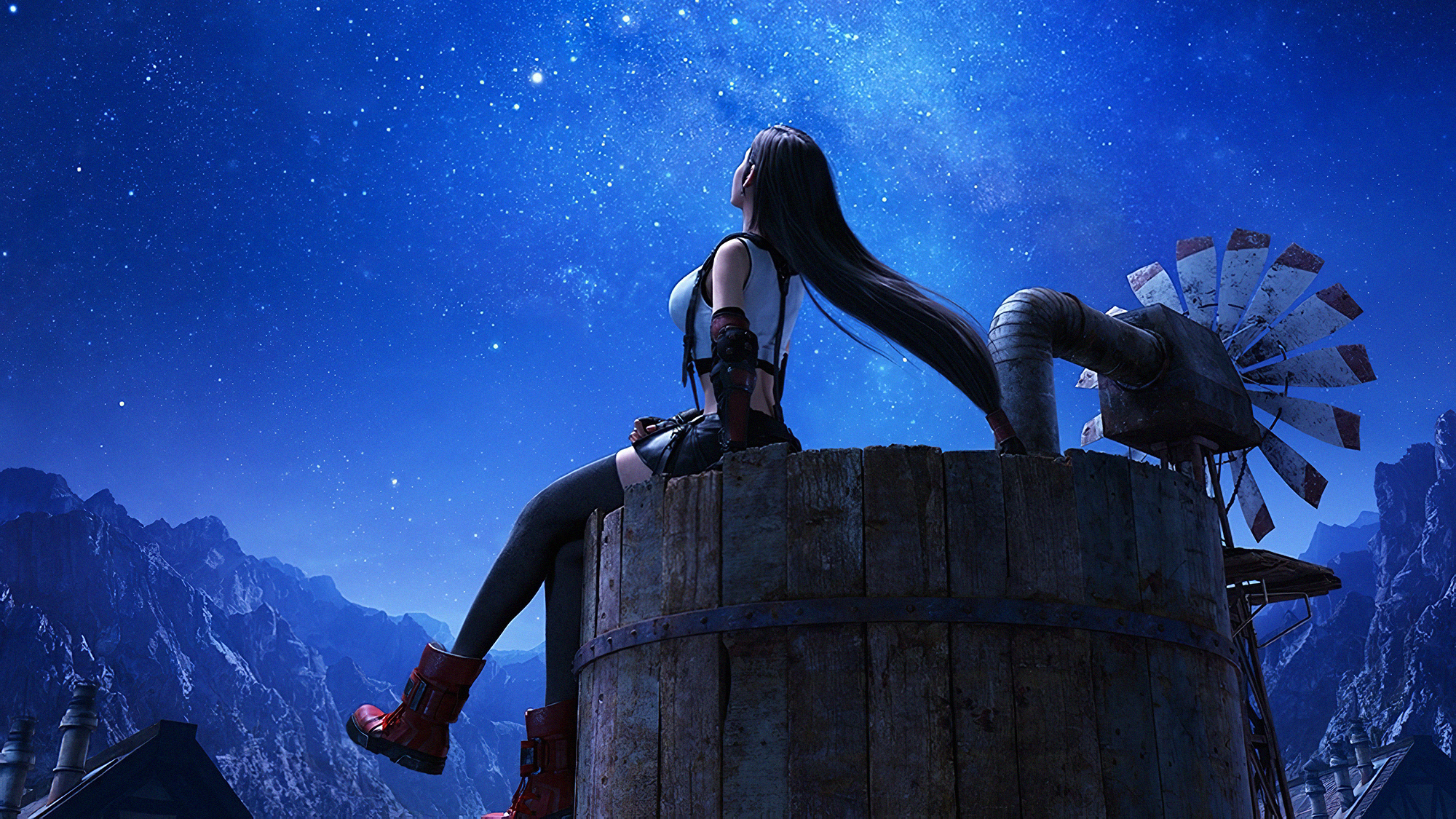 Tifa Lockhart Final Fantasy 7 Remake Wallpaper Hd Games 4k