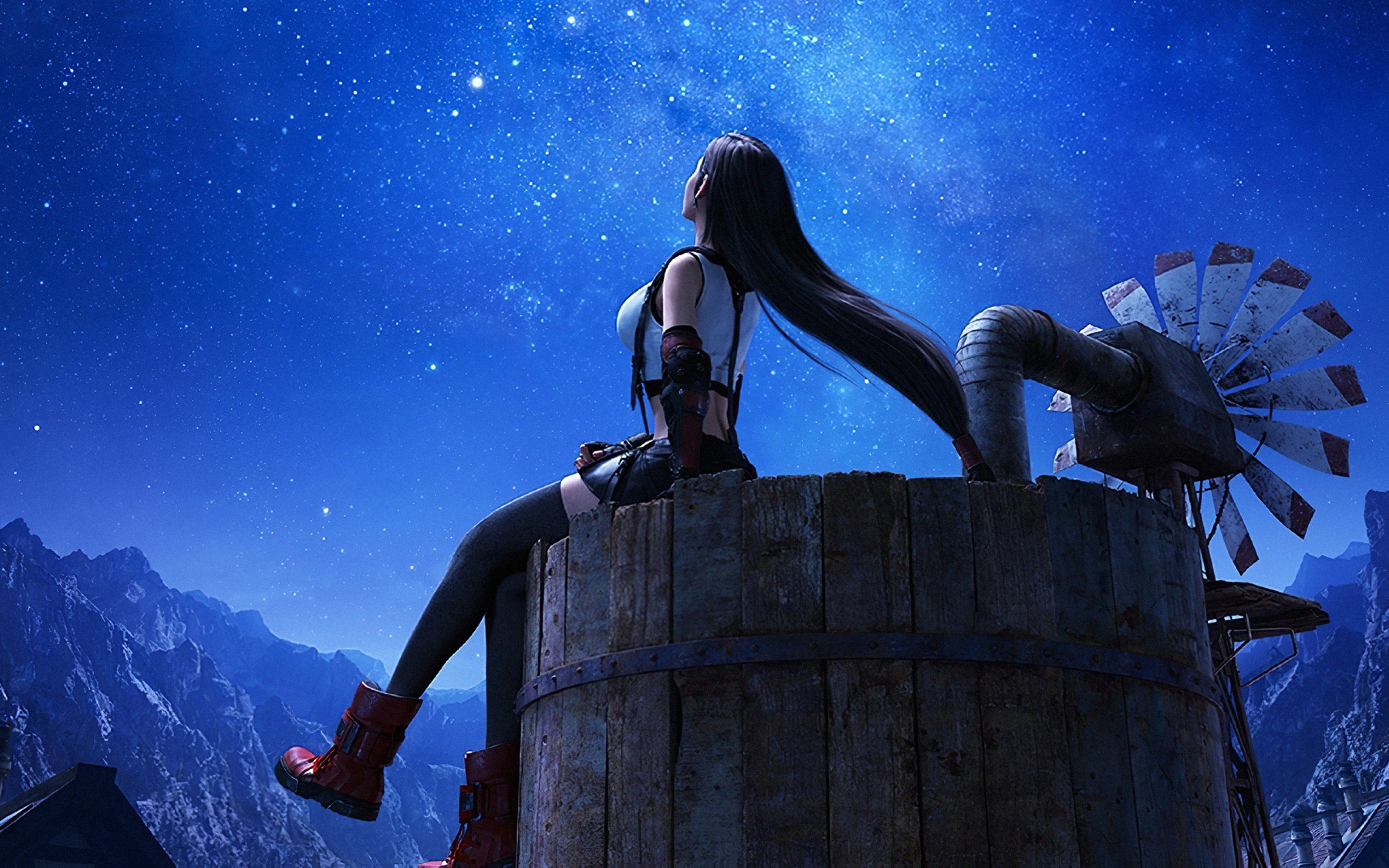 3840x2400 Tifa Lockhart Final Fantasy 7 Remake 4k 3840x2400