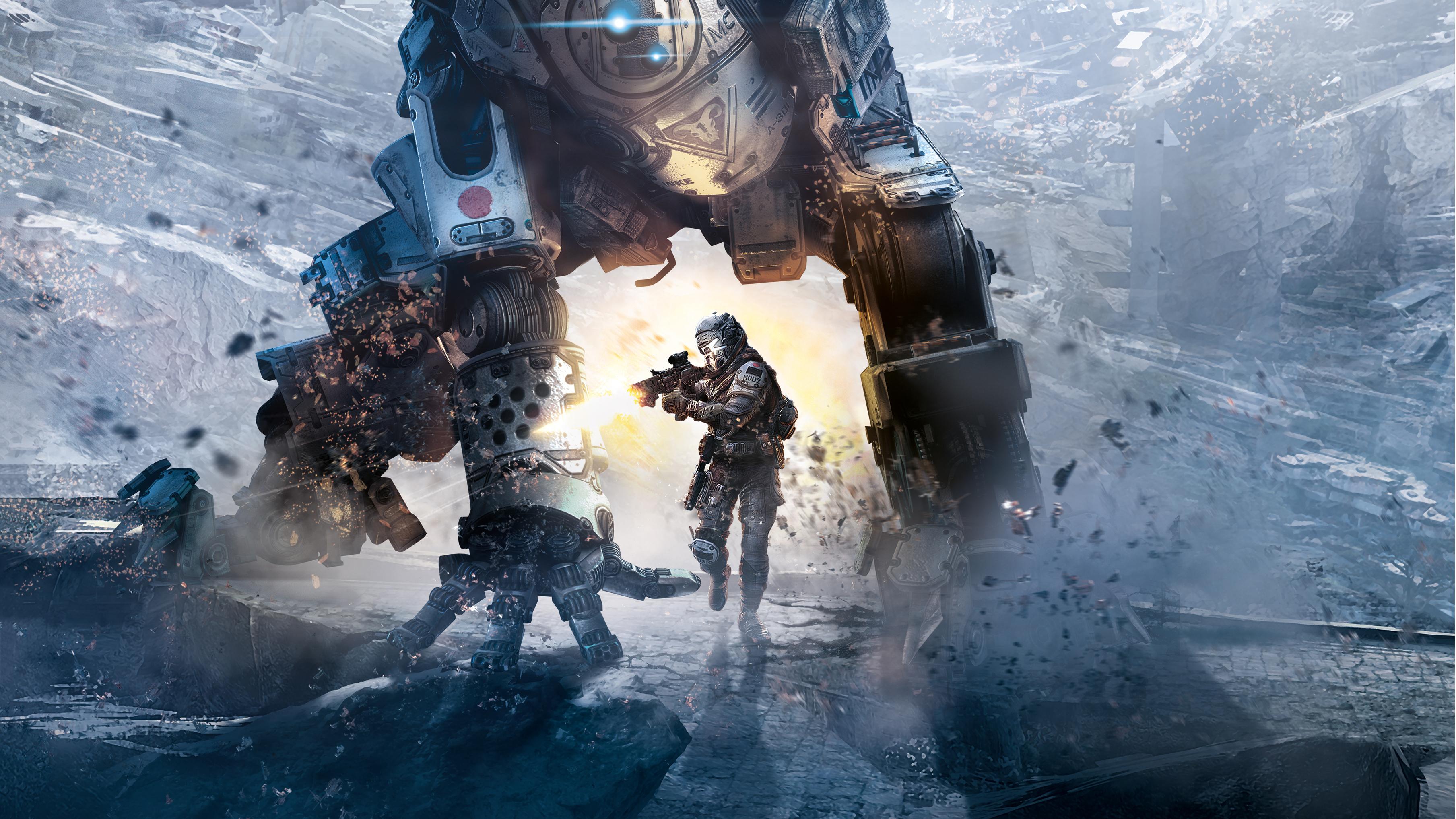 Titanfall 2 Game Poster Wallpaper, HD Games 4K Wallpapers ...