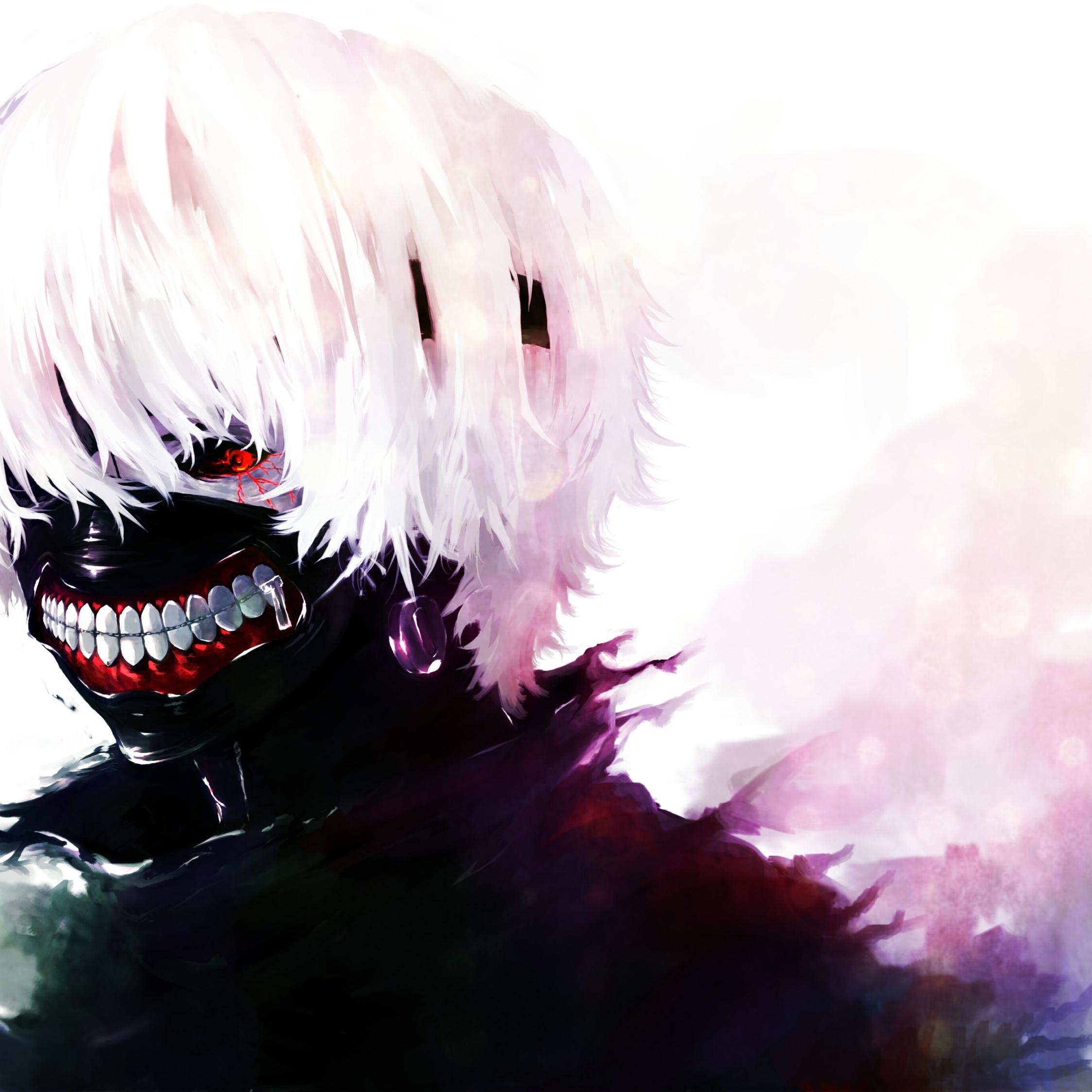 Download Tokyo Ghoul, Kaneki Ken, Man 840x1160 Resolution