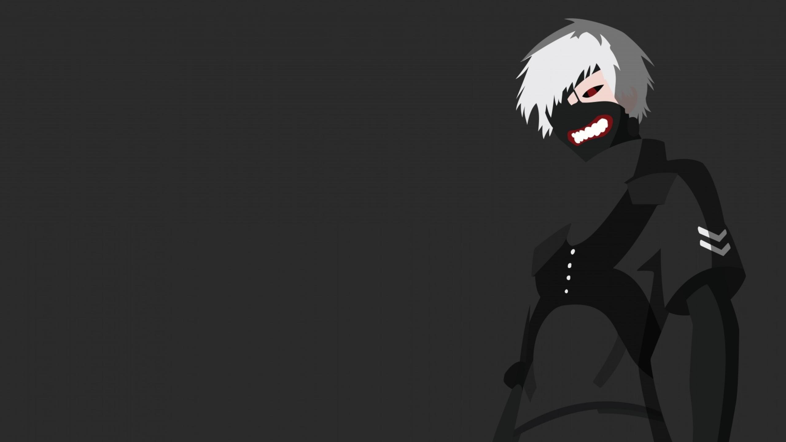 2560x1440 Tokyo Ghoul Ken Kaneki In Mask 1440p Resolution