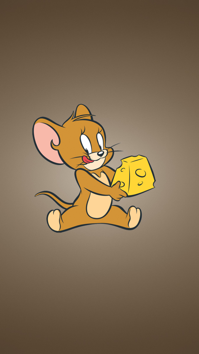 640x1136 tom and jerry, cheese, mouse iPhone 5,5c,5S,SE ...
