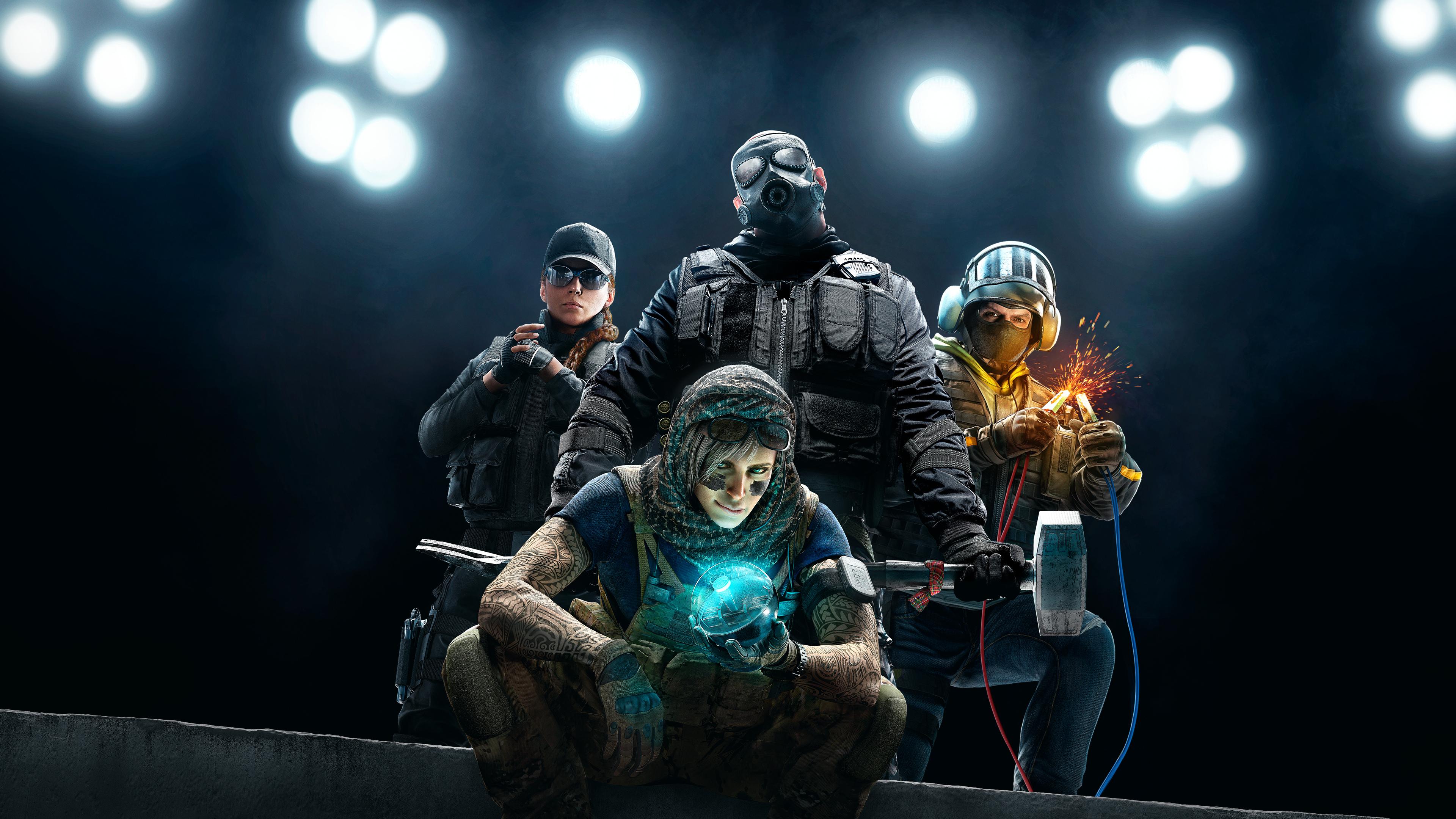 Tom Clancy's Rainbow Six Siege Wallpaper, HD Games 4K ...