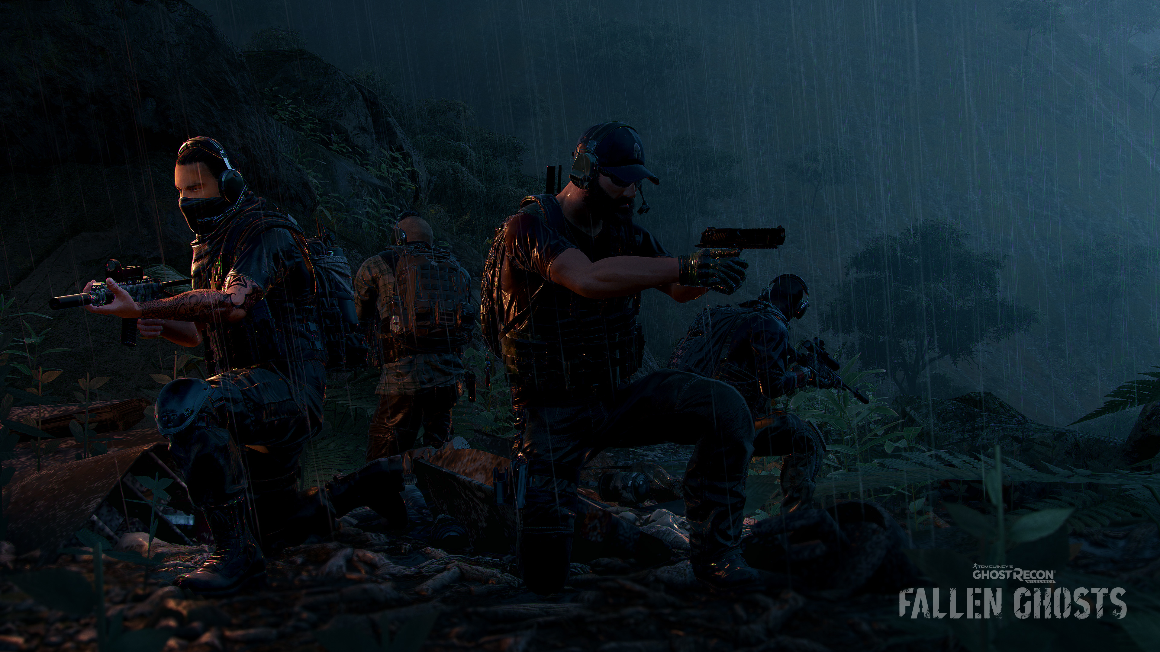 Tom Clancys Ghost Recon Wildlands Fallen Ghosts Dlc Wallpaper Hd
