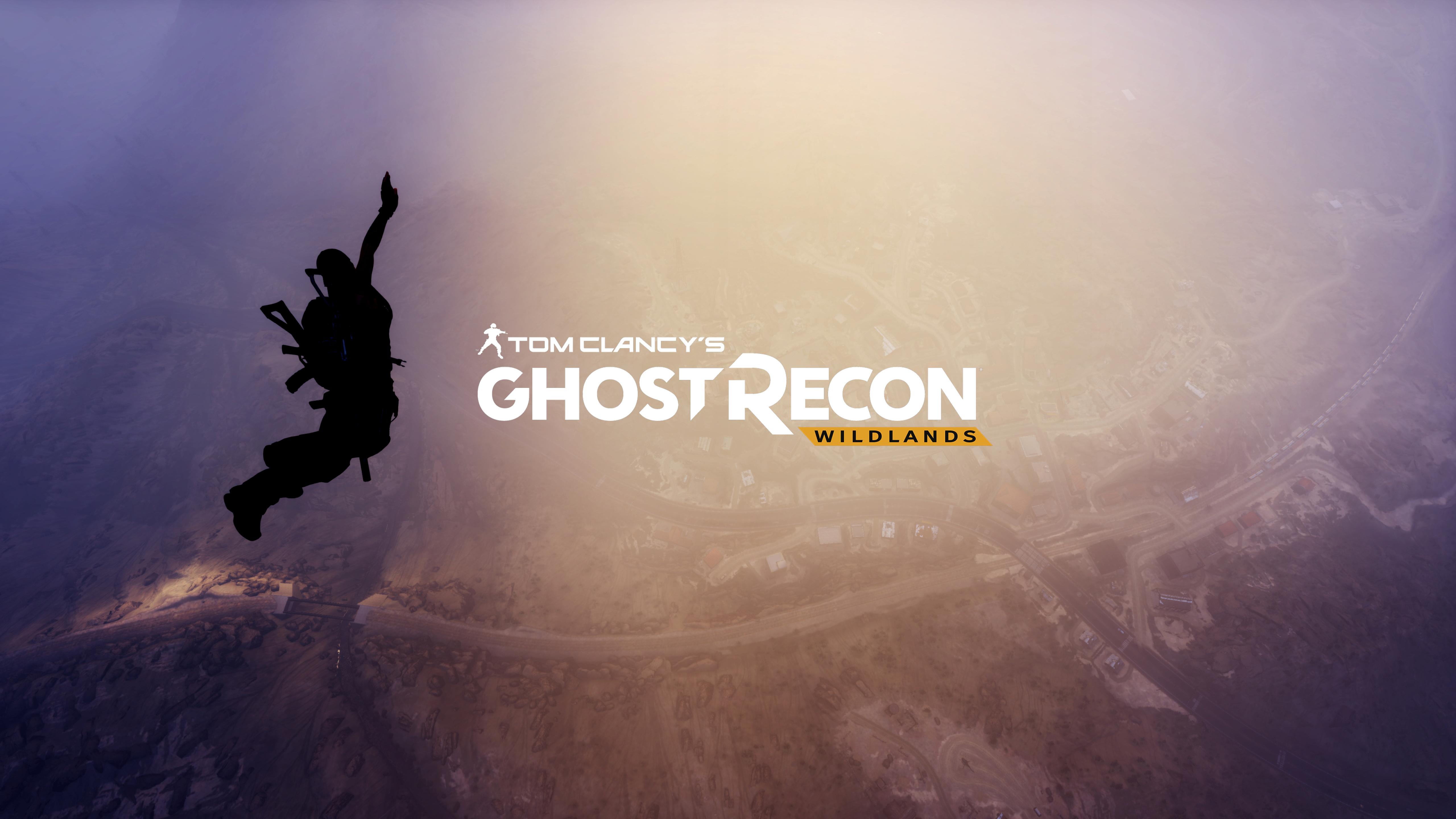 5120x2880 Tom Clancys Ghost Recon Wildlands Logo 5k Wallpaper Hd