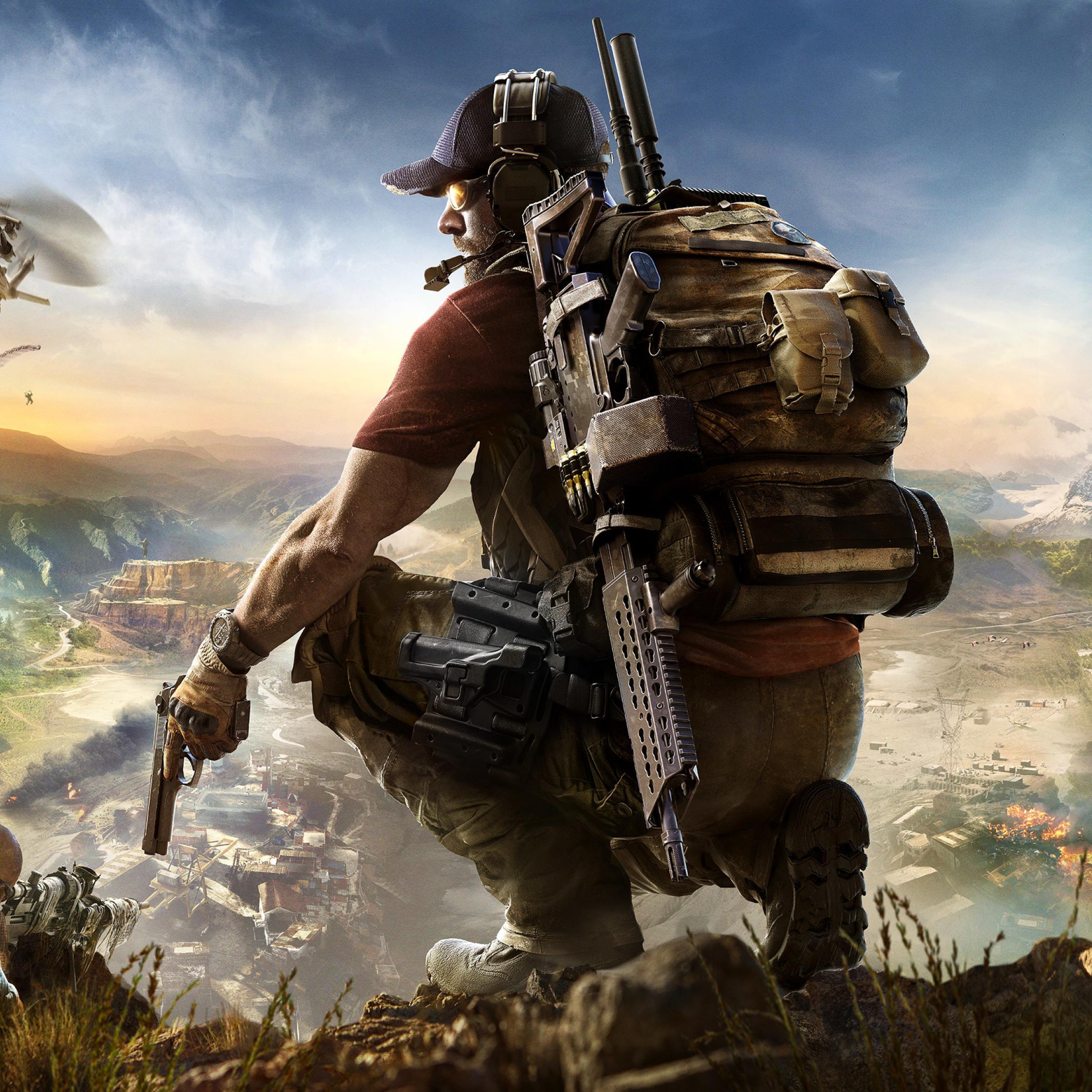 2248x2248 Tom Clancys Ghost Recon Wildlands Ubisoft Paris