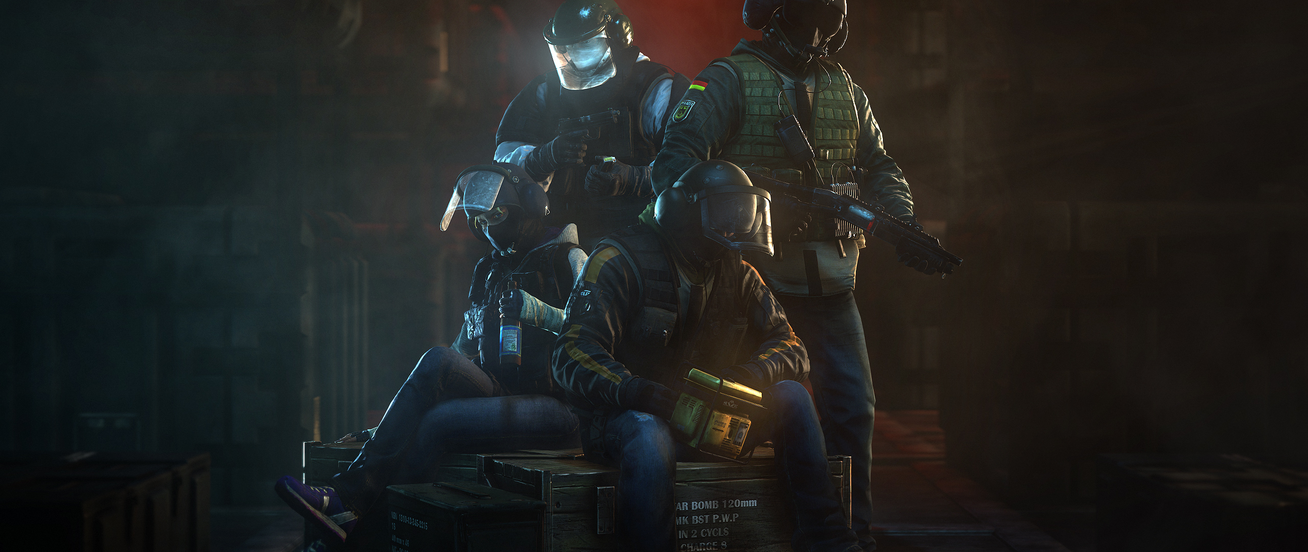 Tom Clancys Rainbow Six Siege Gsg 9 German Operators Full