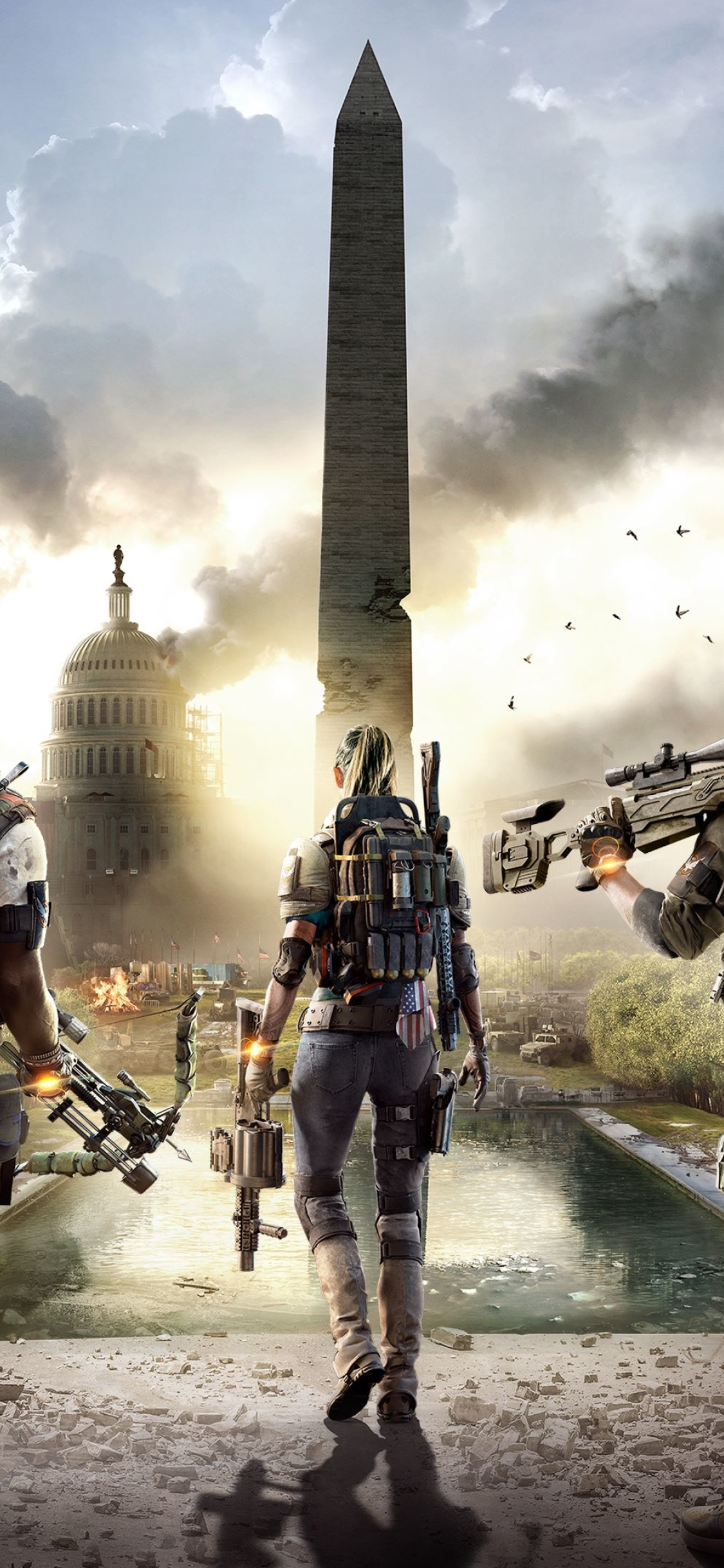 1125x2436 Tom Clancys The Division 2 Iphone XS,Iphone 10 ...