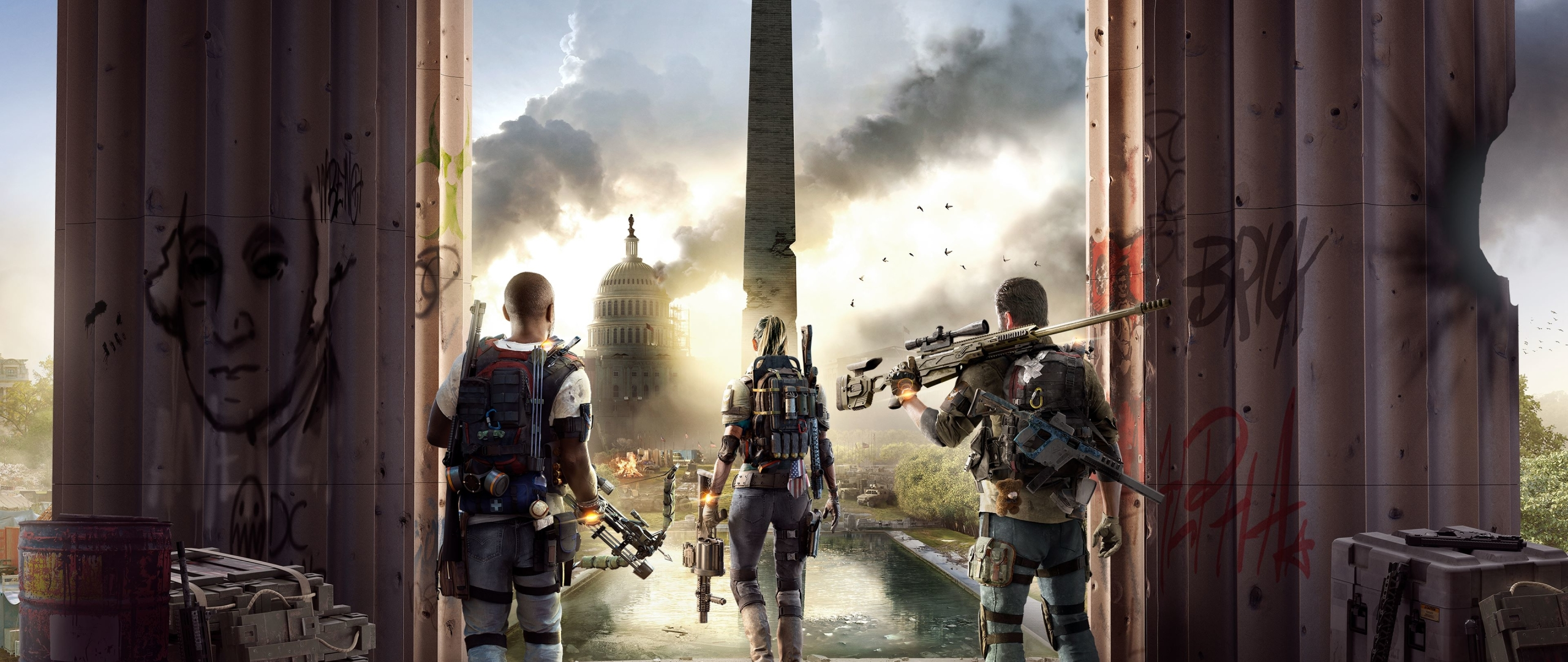 2560x1080 Tom Clancys The Division 2 2560x1080 Resolution