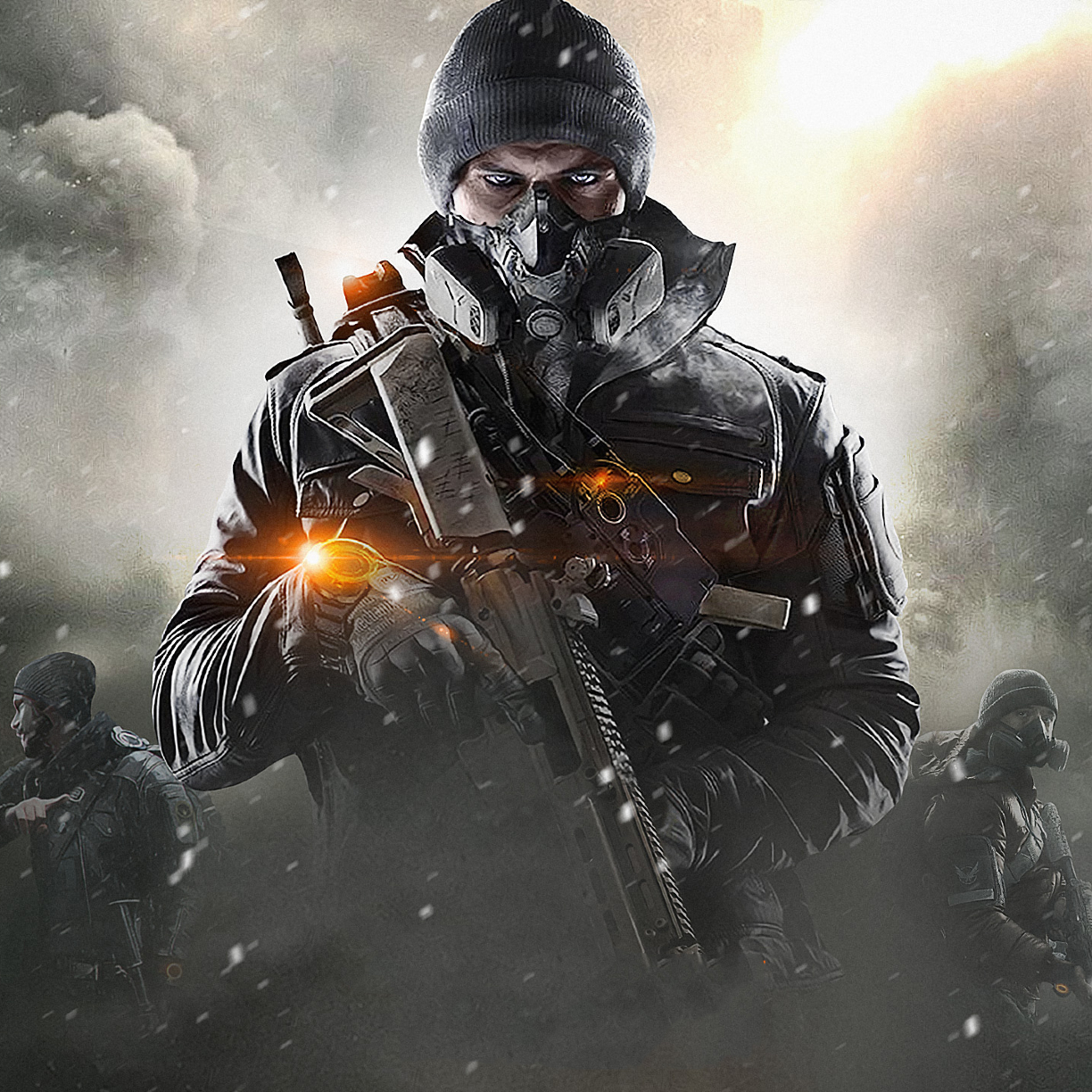Tom Clancy's The Division, Full HD 2K Wallpaper