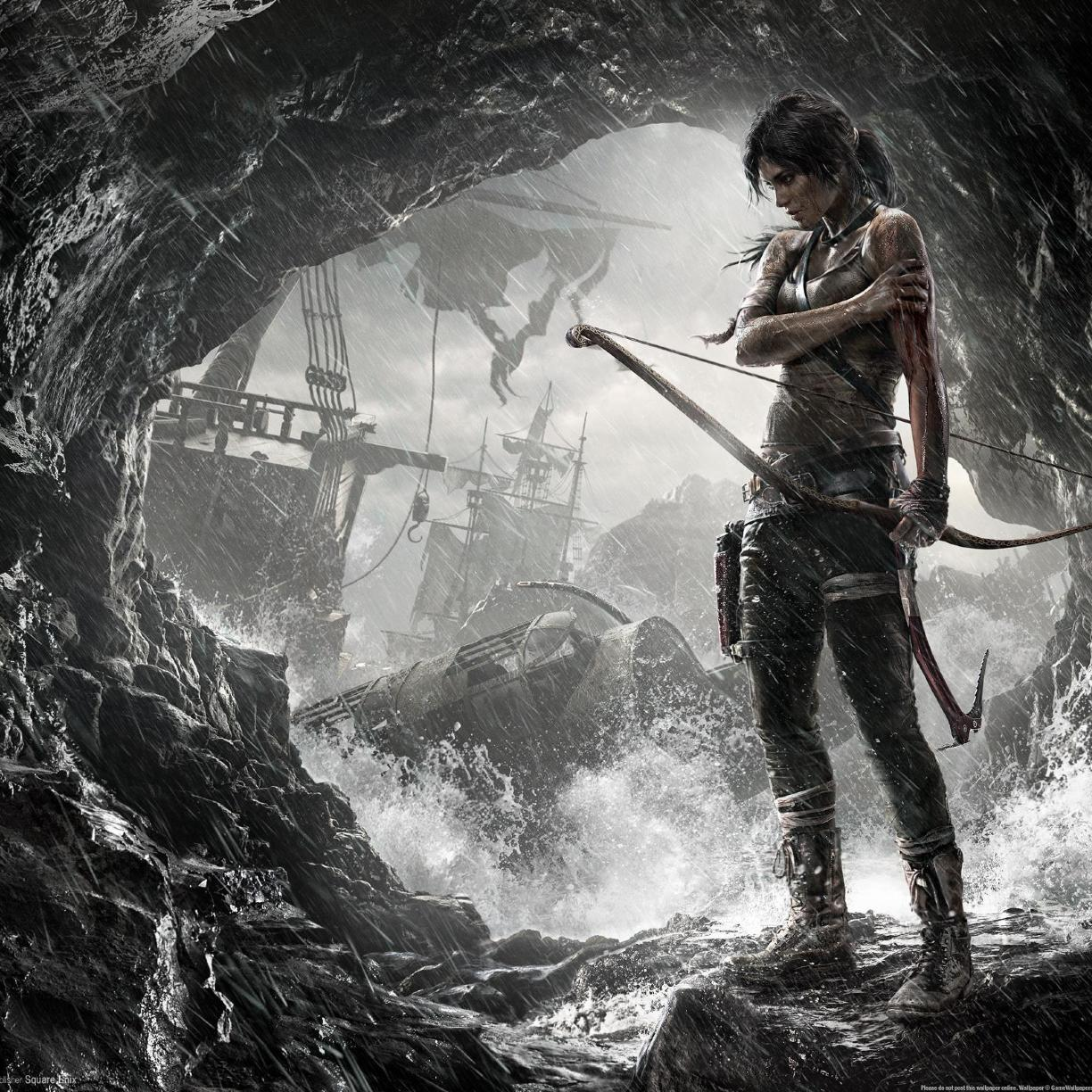 Tomb Rider Wallpaper: Tomb Raider 2 Game Art, Full HD 2K Wallpaper