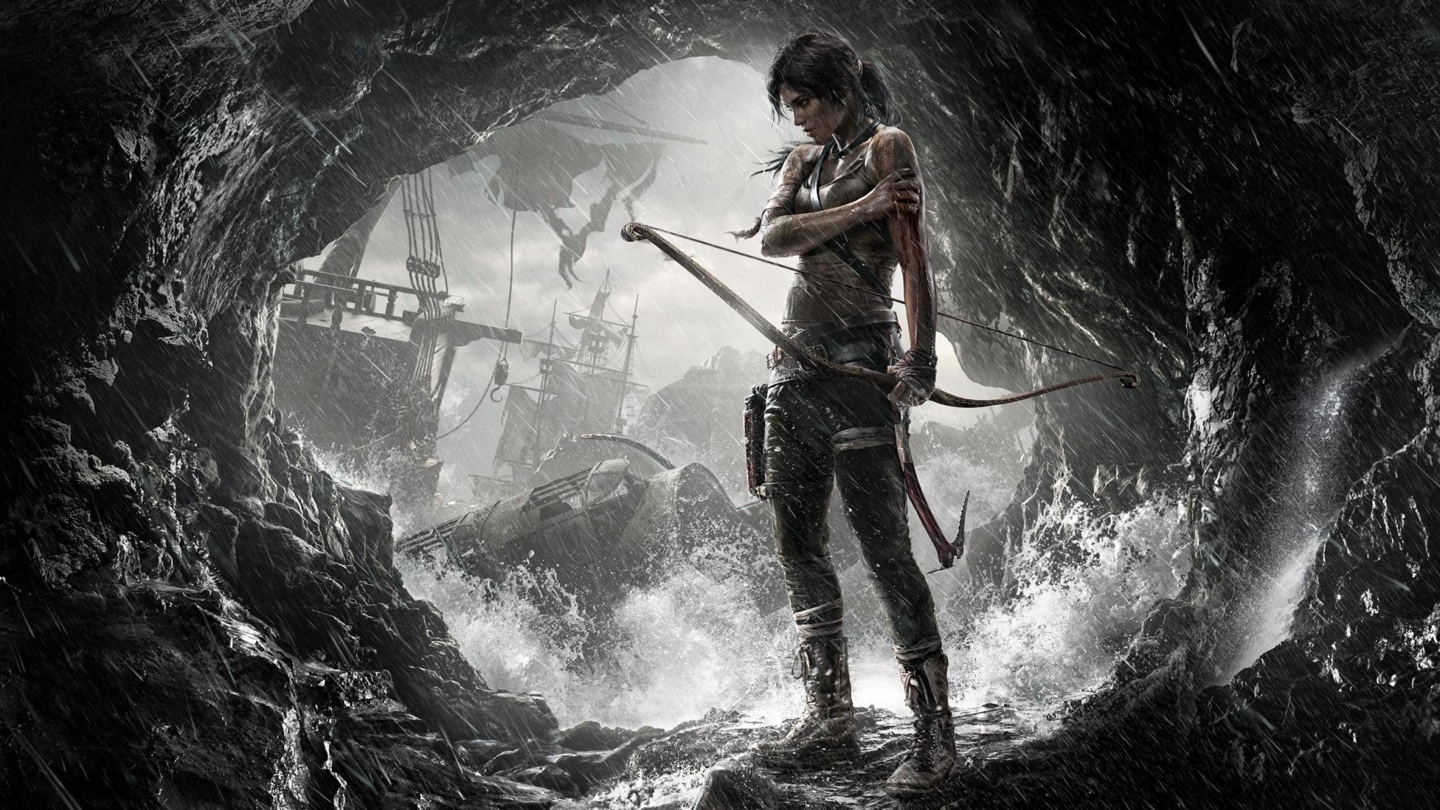 7680x4320 Lara Croft 8k Artwork 8k Hd 4k Wallpapers: Tomb Raider 2 Game Art, Full HD 2K Wallpaper