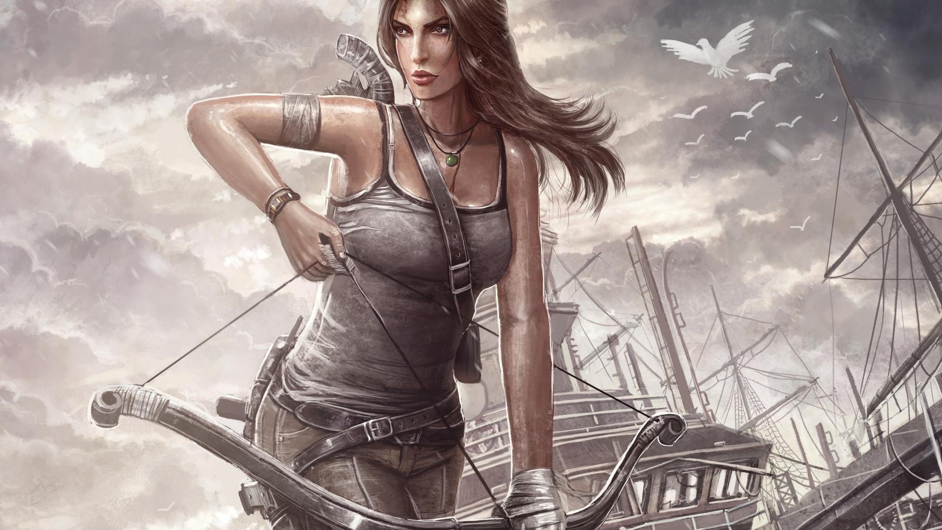 3840x2160 Lara Croft Tomb Raider Artwork 4k Hd 4k: Tomb Raider, Lara Croft, Reborn, HD 4K Wallpaper