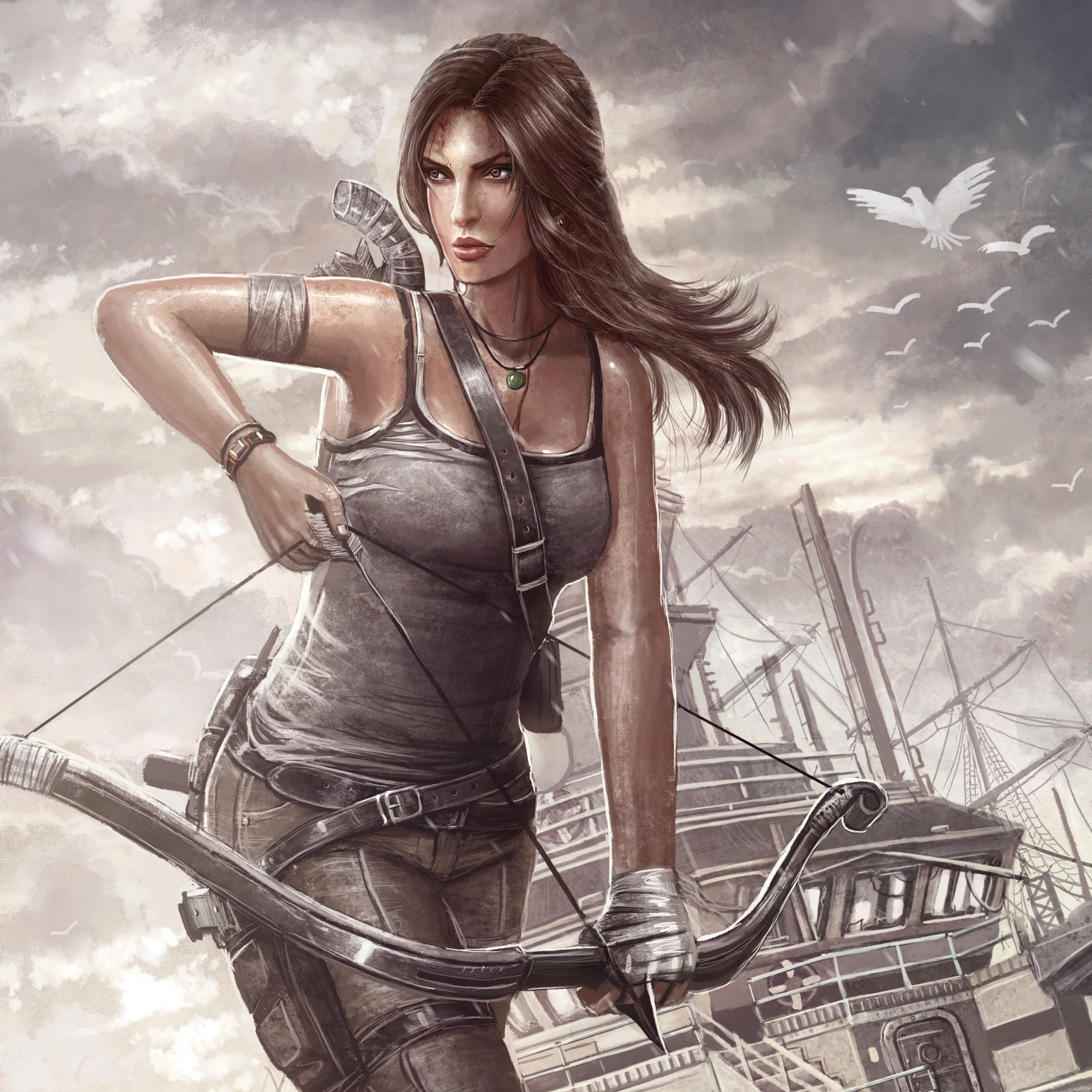 Tomb Rider Wallpaper: Tomb Raider, Lara Croft, Reborn, HD 4K Wallpaper