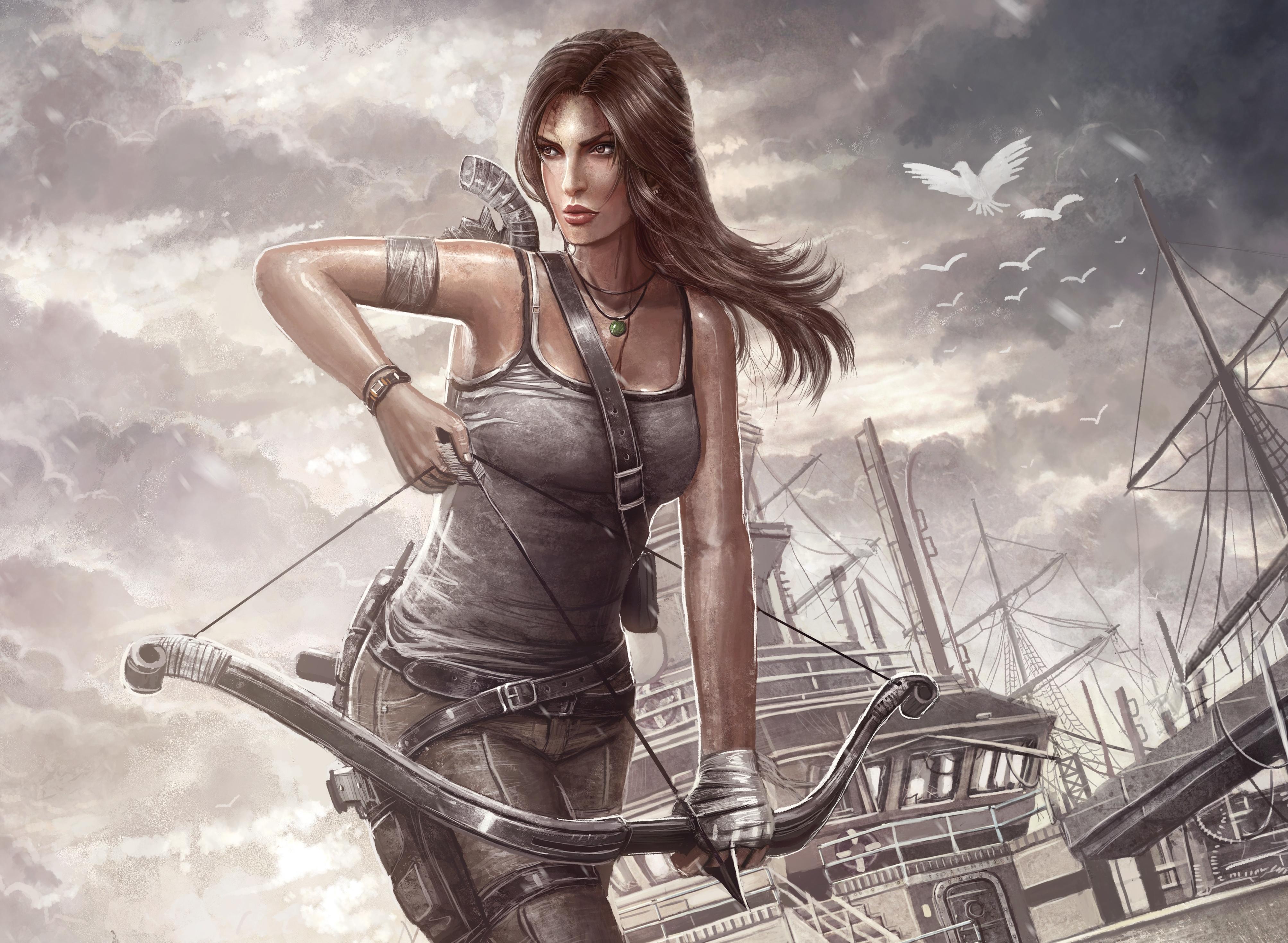 7680x4320 Lara Croft 8k Artwork 8k Hd 4k Wallpapers: Tomb Raider, Lara Croft, Reborn, HD 4K Wallpaper