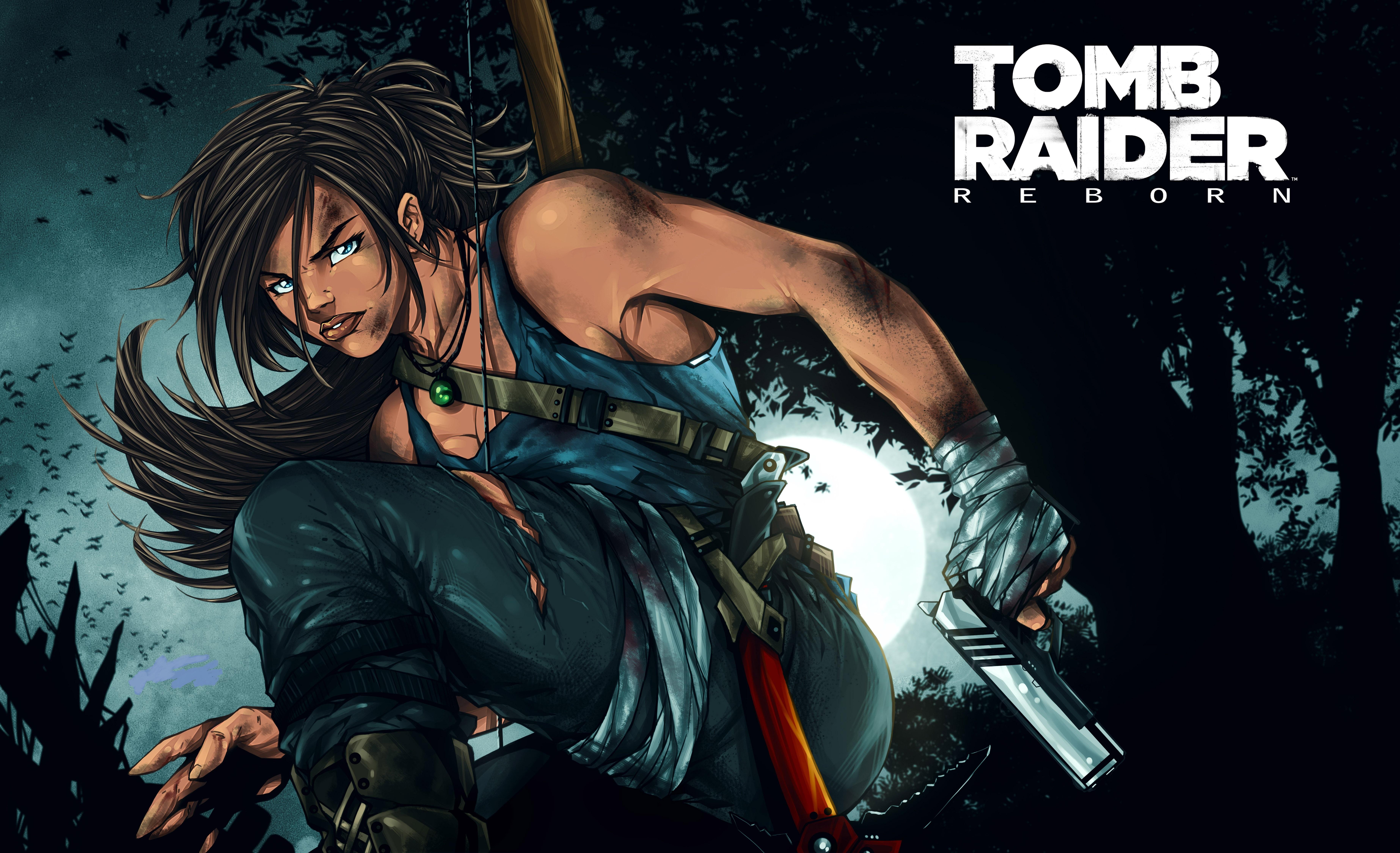 7680x4320 Lara Croft 8k Artwork 8k Hd 4k Wallpapers: Tomb Raider Reborn, HD 8K Wallpaper