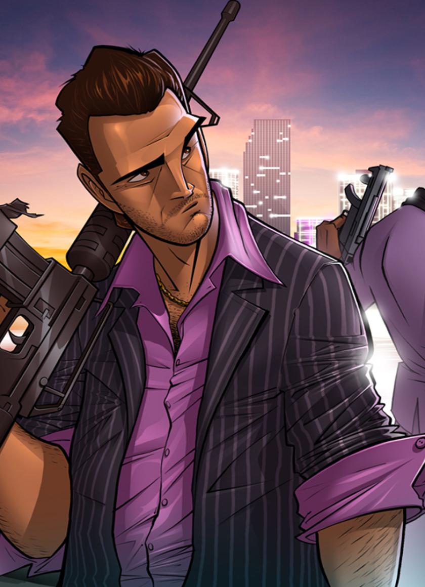840x1160 Tommy Vercetti Grand Theft Auto Vice City 840x1160