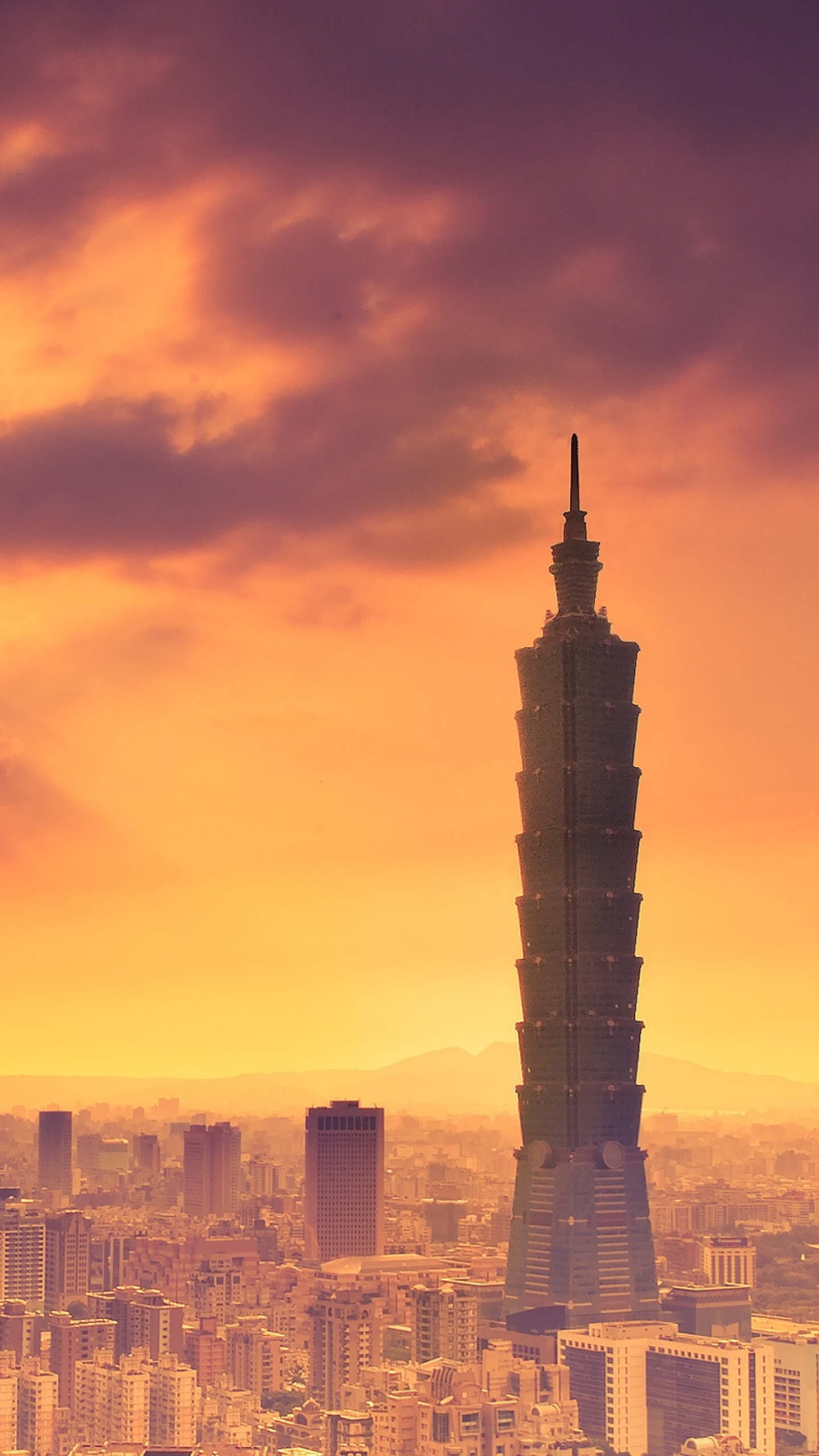 Download Tower, Building, Taipei 7680x4320 Resolution