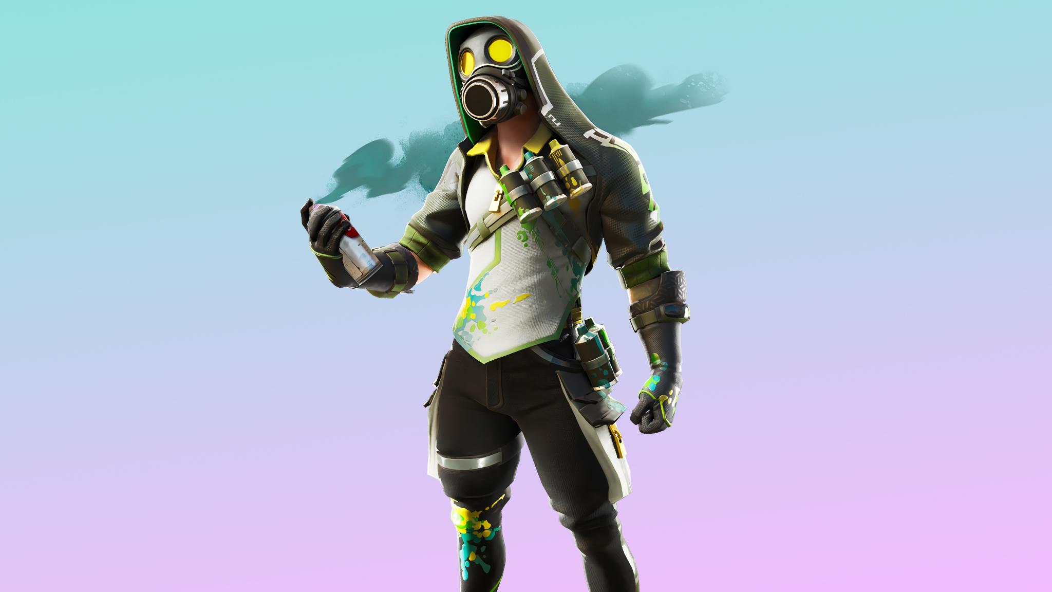 2048x1152 Toxic Tagger Fortnite 2048x1152 Resolution