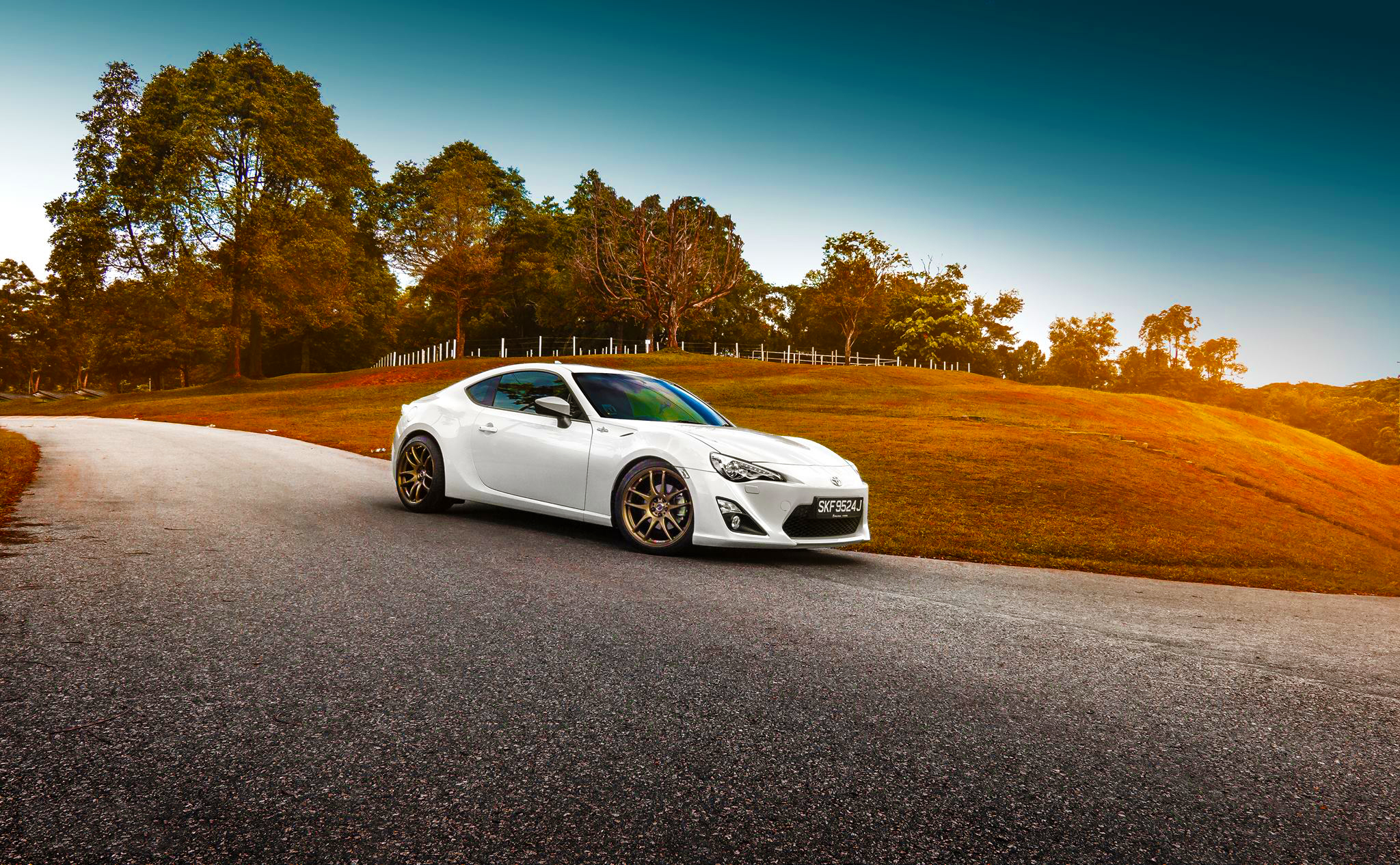toyota, gt86, white Wallpaper, HD Cars 4K Wallpapers ...
