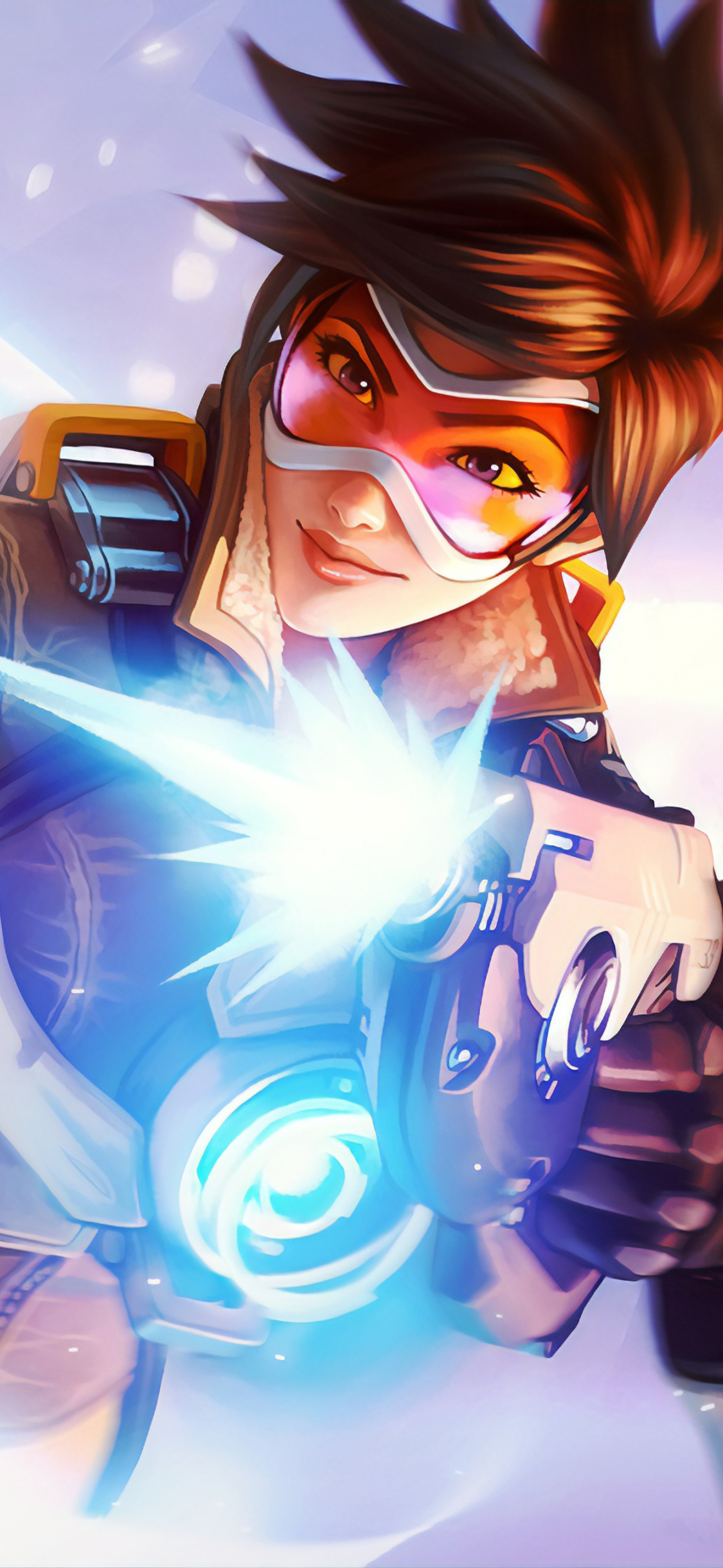 1125x2436 Tracer Overwatch 4k Iphone Xs Iphone 10 Iphone X