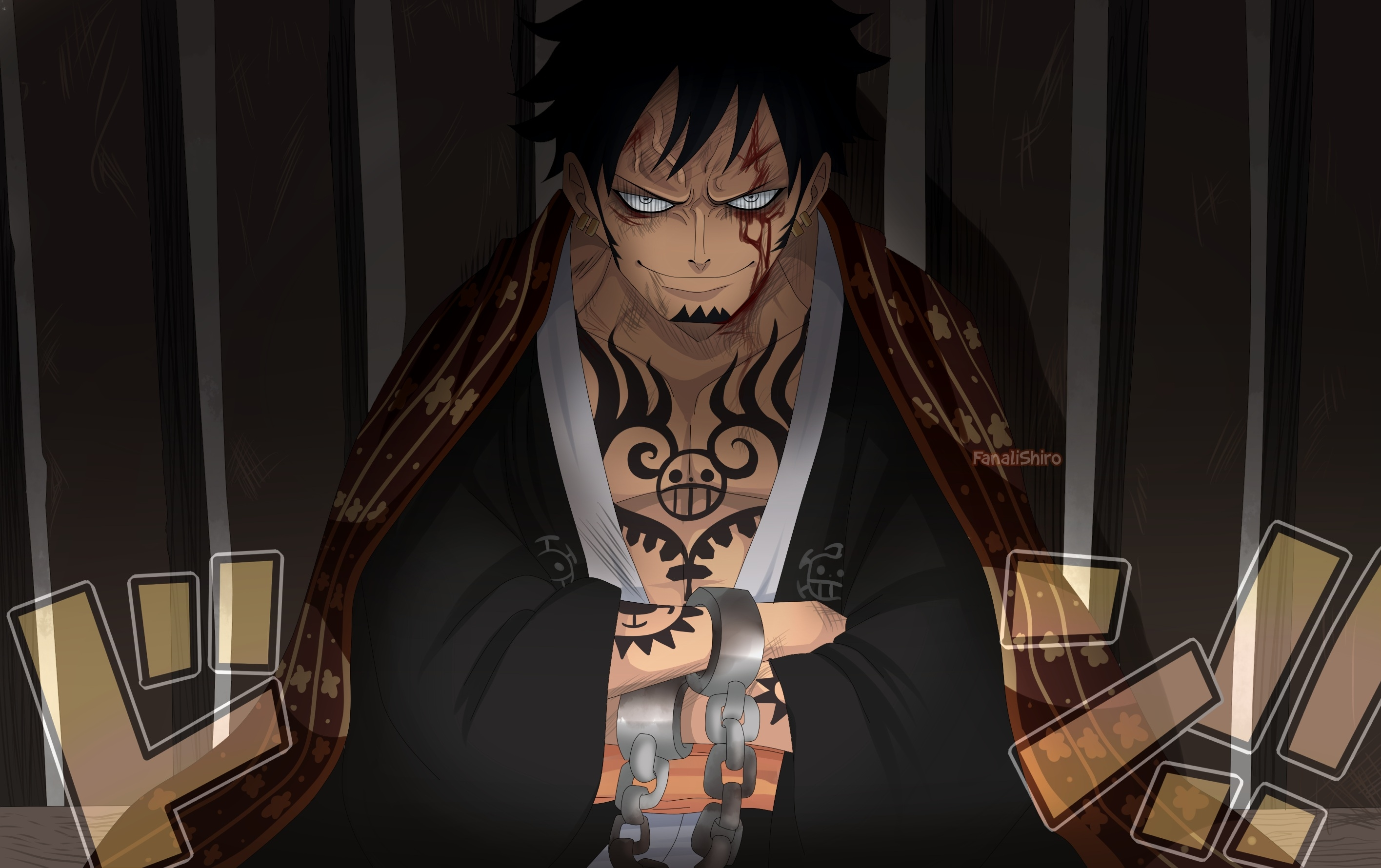 7680x4320 Trafalgar Law From One Piece 8k Wallpaper Hd Anime 4k Wallpapers Images Photos And Background