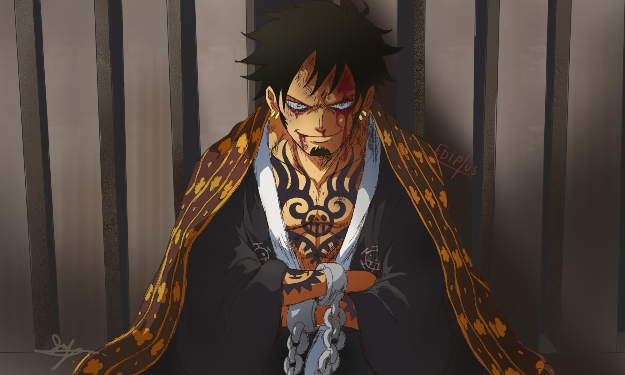 1080x2340 Trafalgar Law In One Piece 1080x2340 Resolution Wallpaper Hd Anime 4k Wallpapers Images Photos And Background