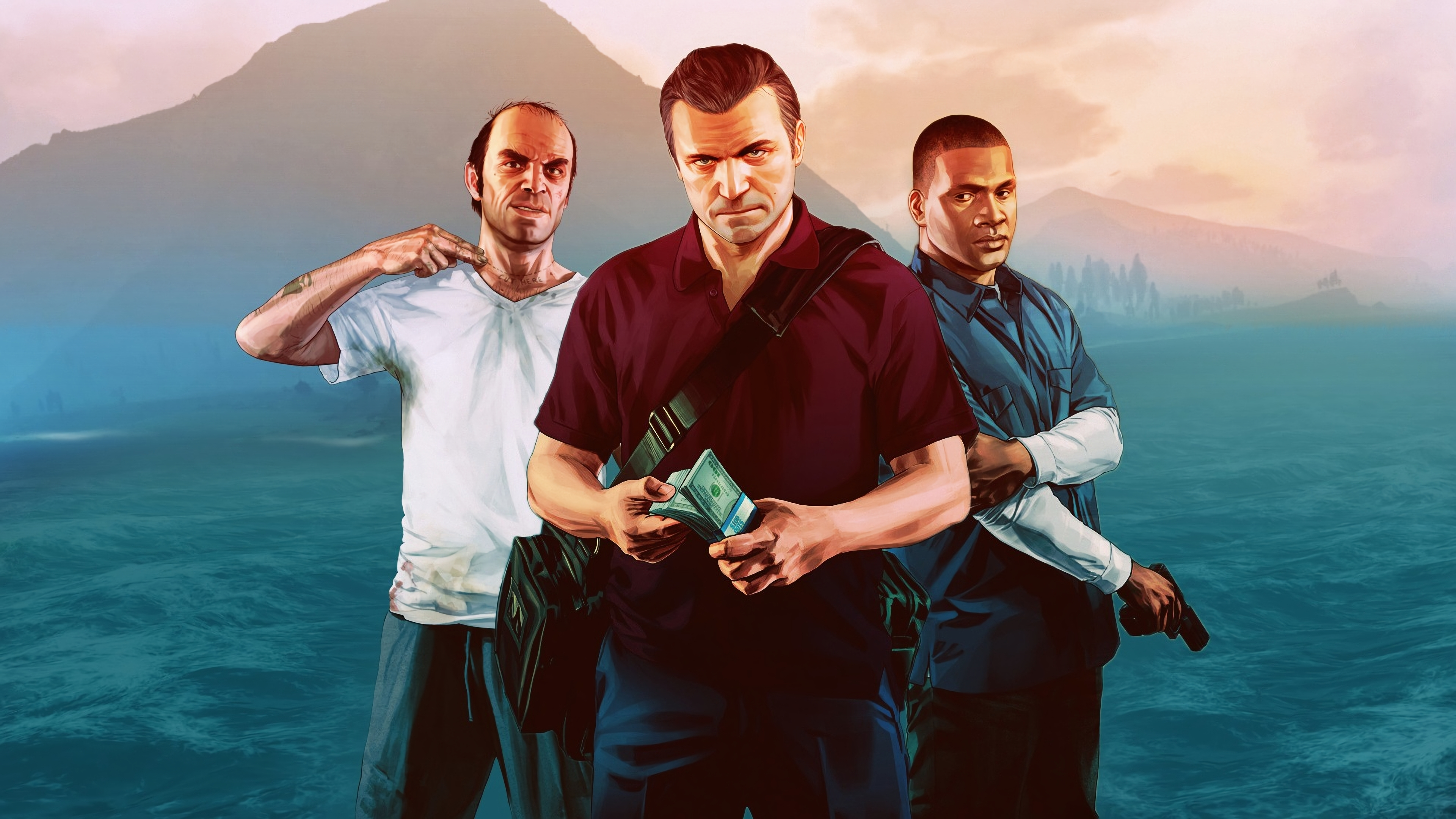 3840x2160 Trevor Franklin And Michael In Gta 4k Wallpaper Hd Games 4k Wallpapers Images Photos And Background Wallpapers Den