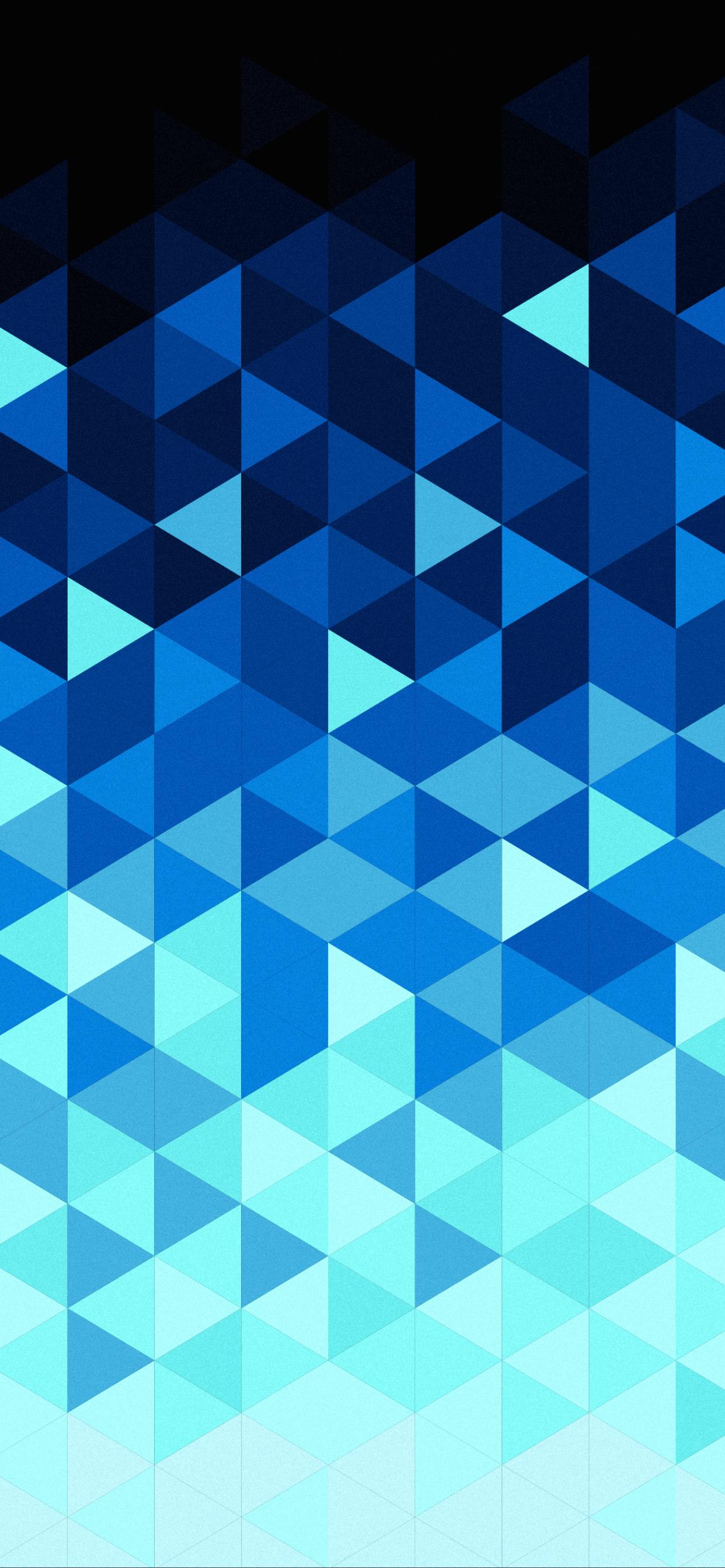 1242x2688 Triangle Pattern Digital Art Iphone XS MAX ...
