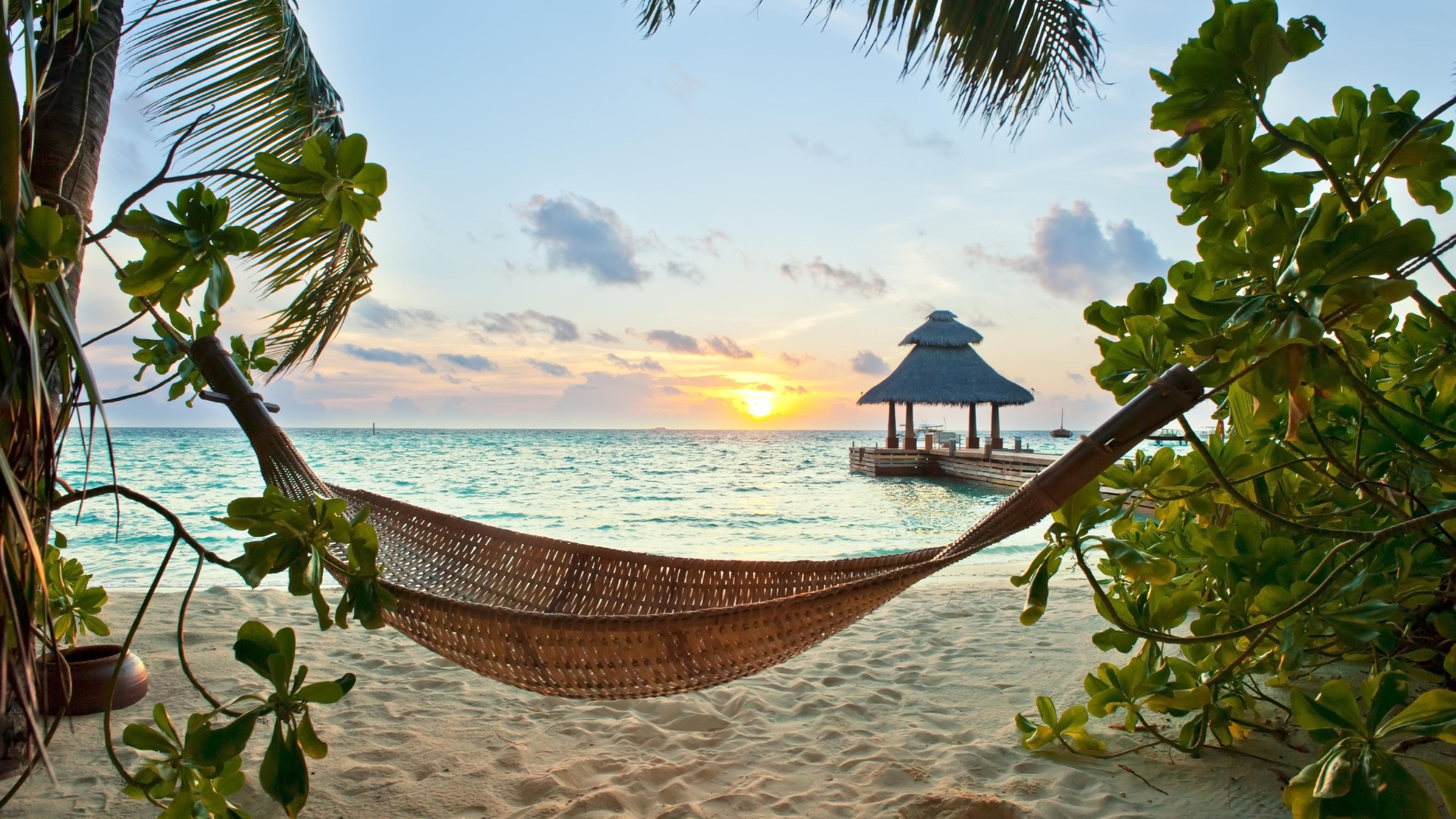 3840x2160 Tropics Beach Sand 4k Wallpaper Hd Nature 4k