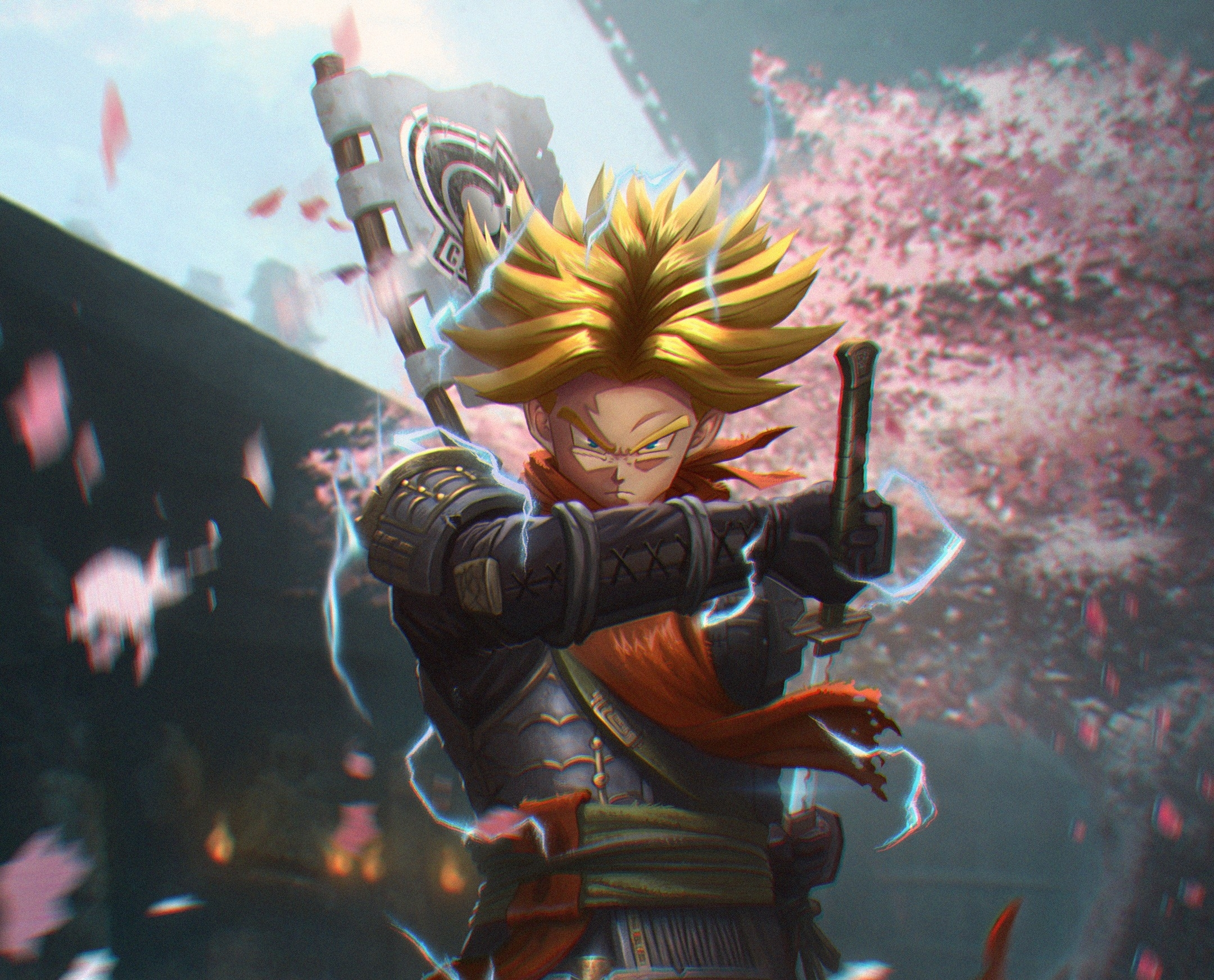 Trunks Dragon Ball Wallpaper Hd Games 4k Wallpapers Images Photos And Background