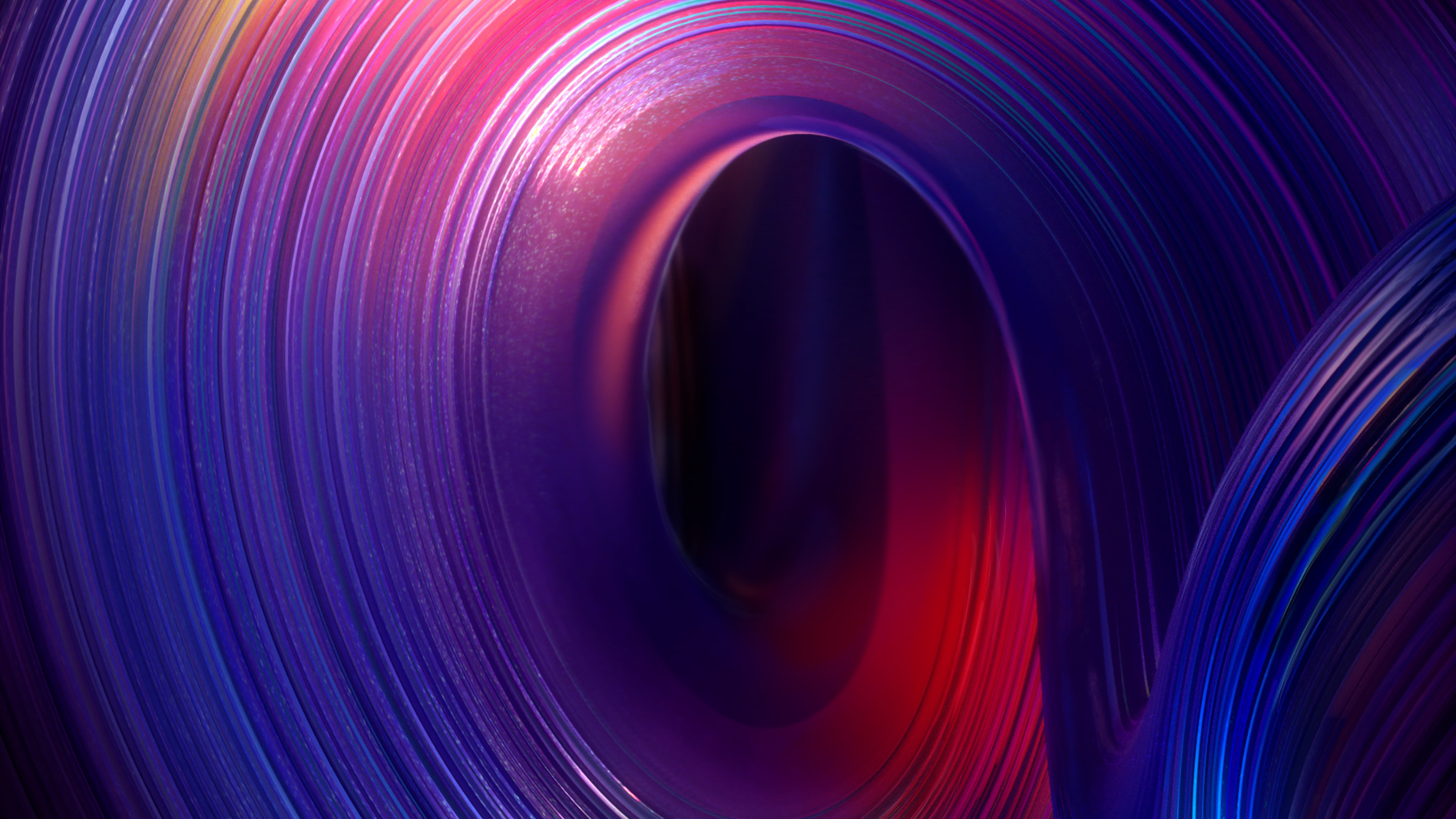 3840x2160 Twisted Color Gradient 4K Background, HD ...