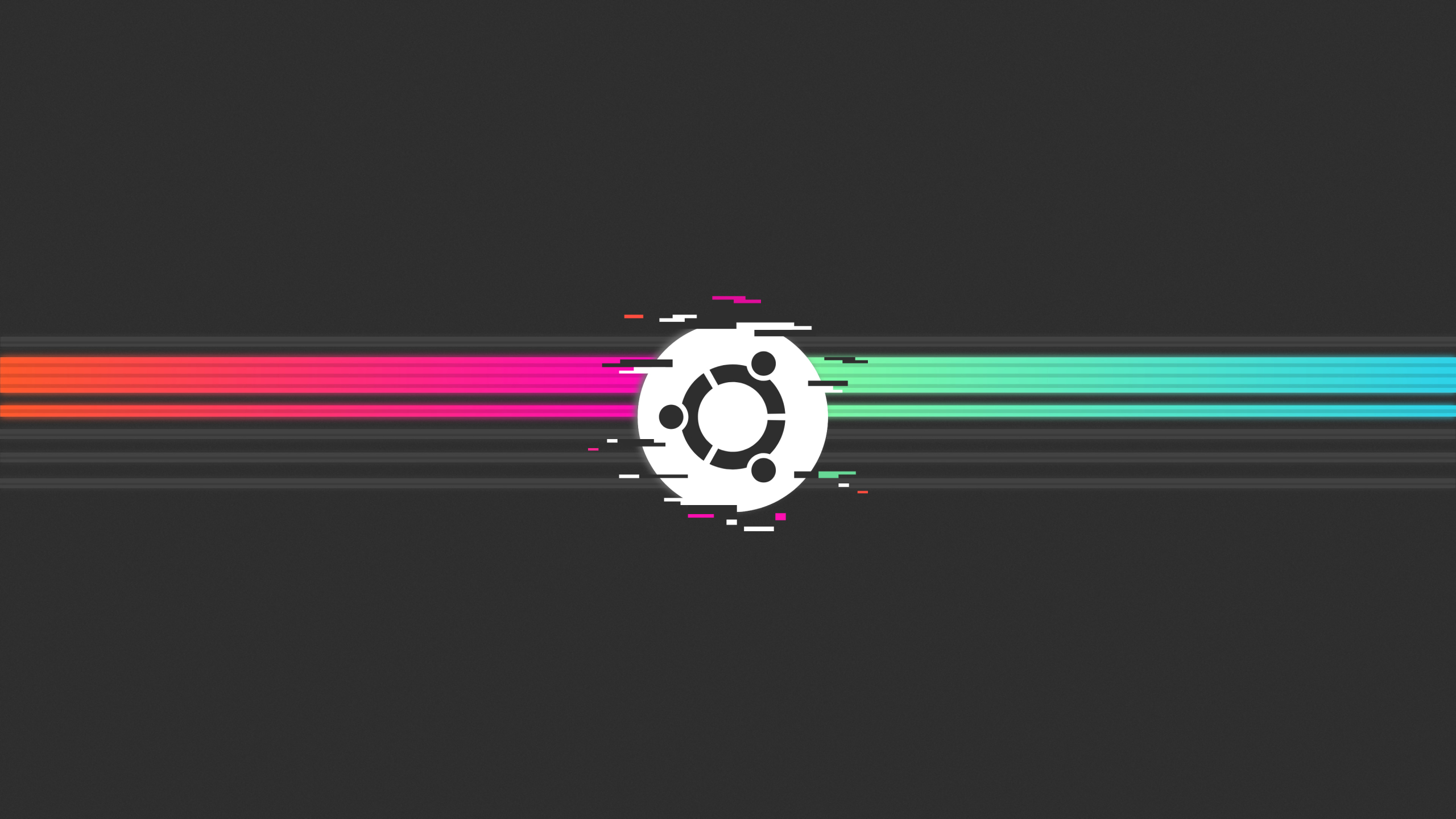 2560x1440 Ubuntu Glitch 1440p Resolution Wallpaper Hd Minimalist 4k Wallpapers Images Photos And Background