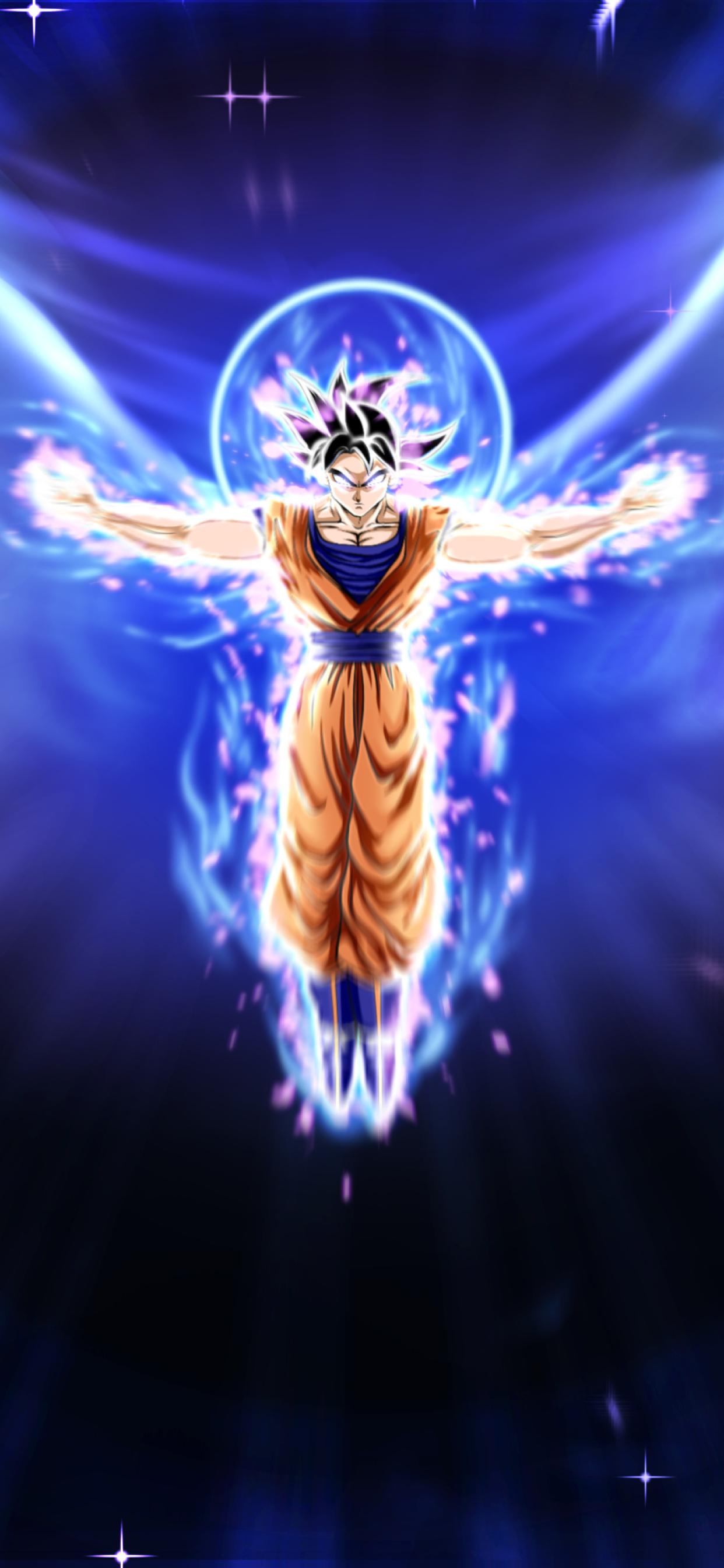 1242x2688 Ultra Instinct Dragon Ball Goku Iphone XS MAX ...