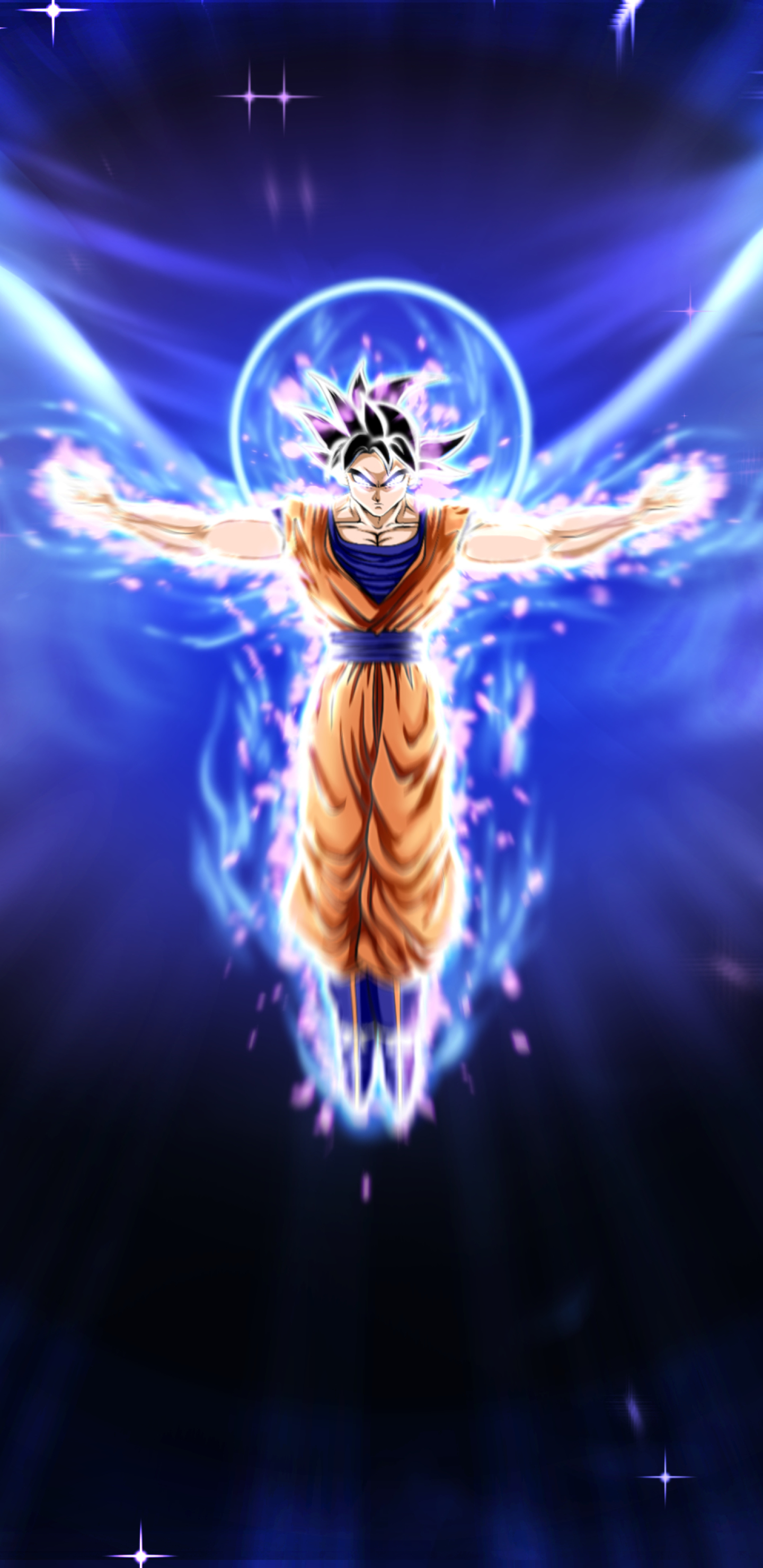 1440x2960 Ultra Instinct Dragon Ball Goku Samsung Galaxy Note 9 8
